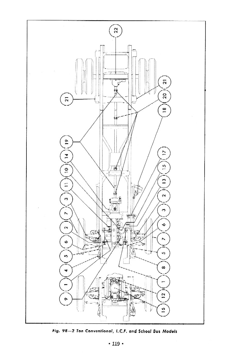1966 Wiring Diagram 1960 66 Chevy Gmc Truck Frame Diagram Page 3 The 1947