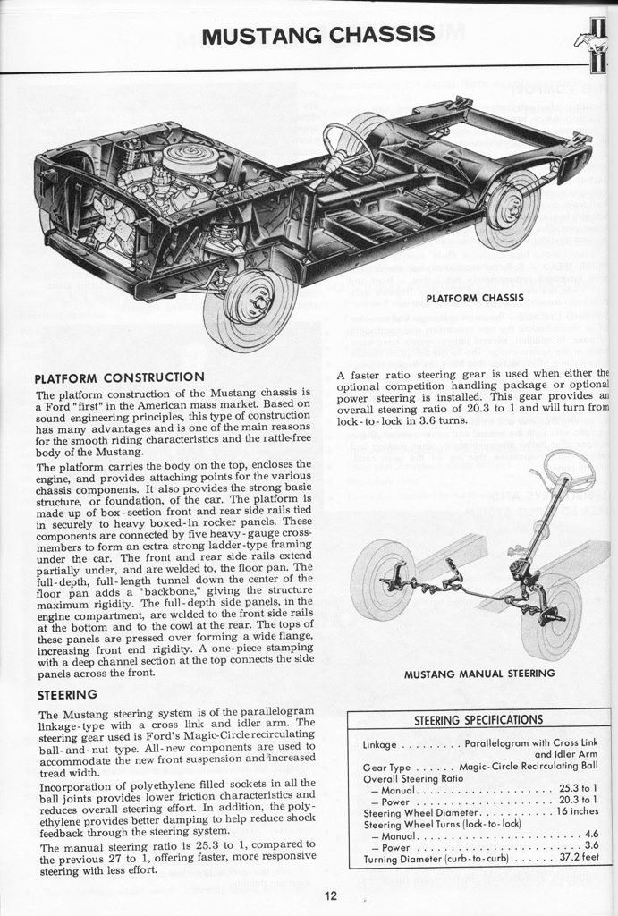 1967 Mustang Illustrated Book of Facts page 11 of 29