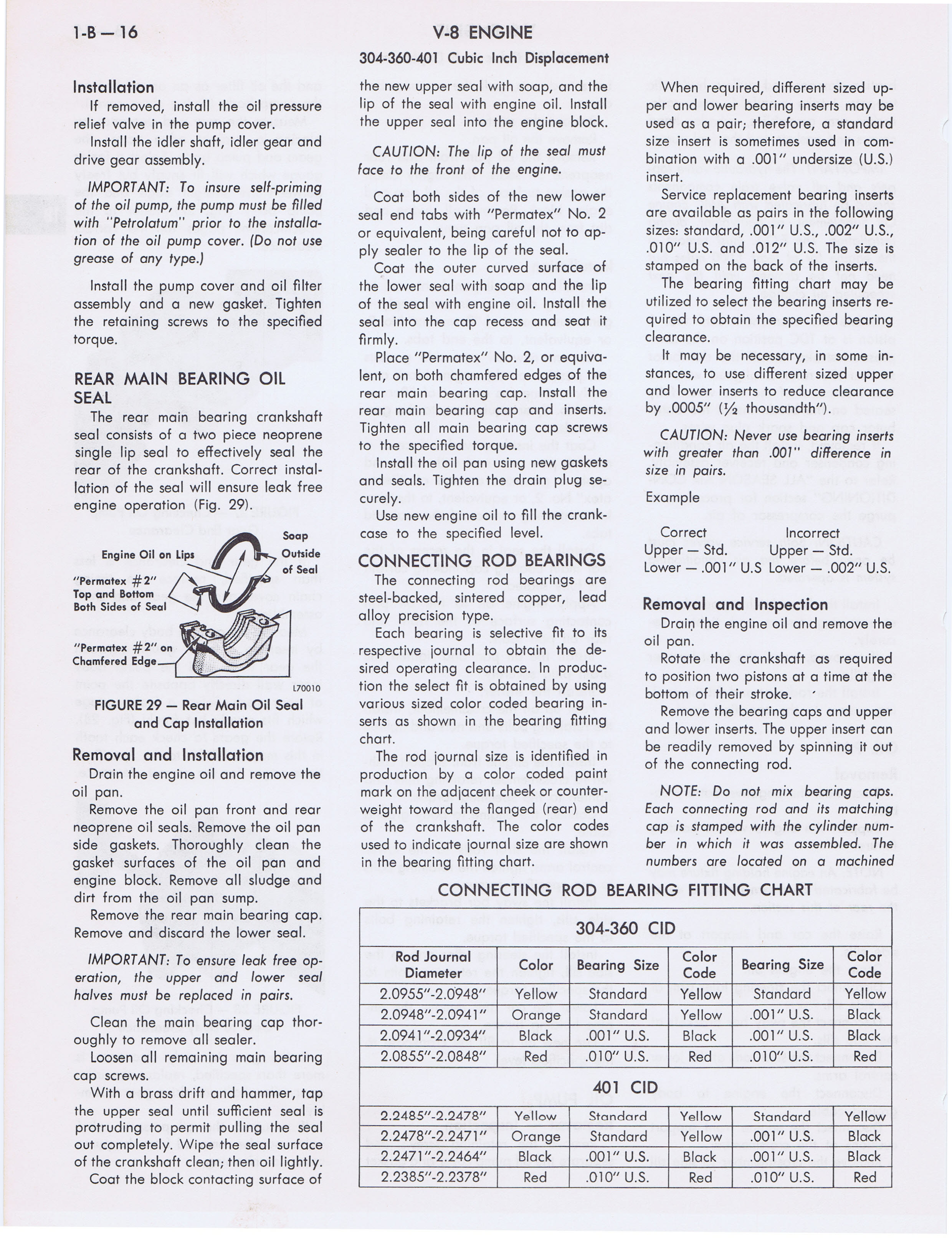 1973 AMC Technical Service Manual page 62 of 487