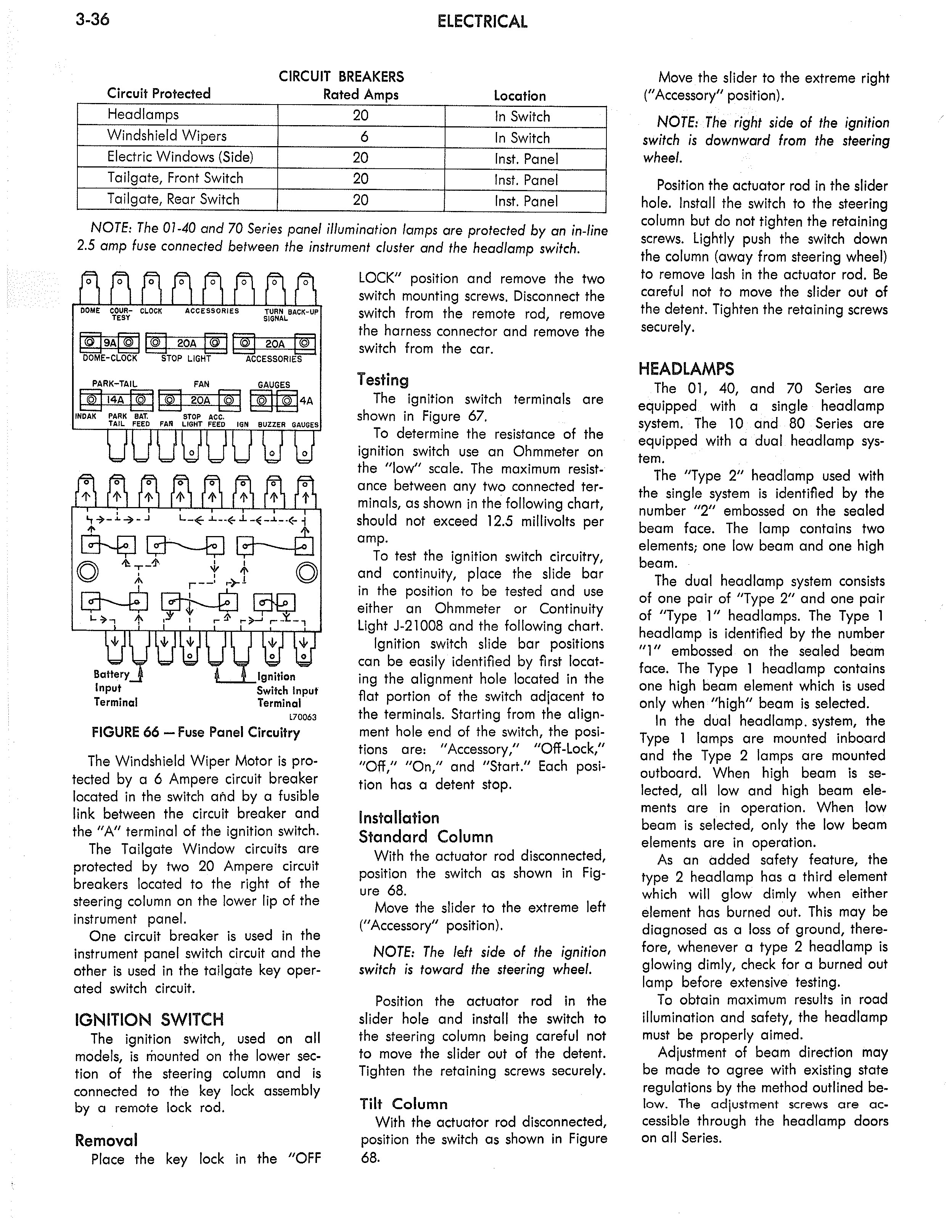 1973 AMC Technical Service Manual page 116 of 487