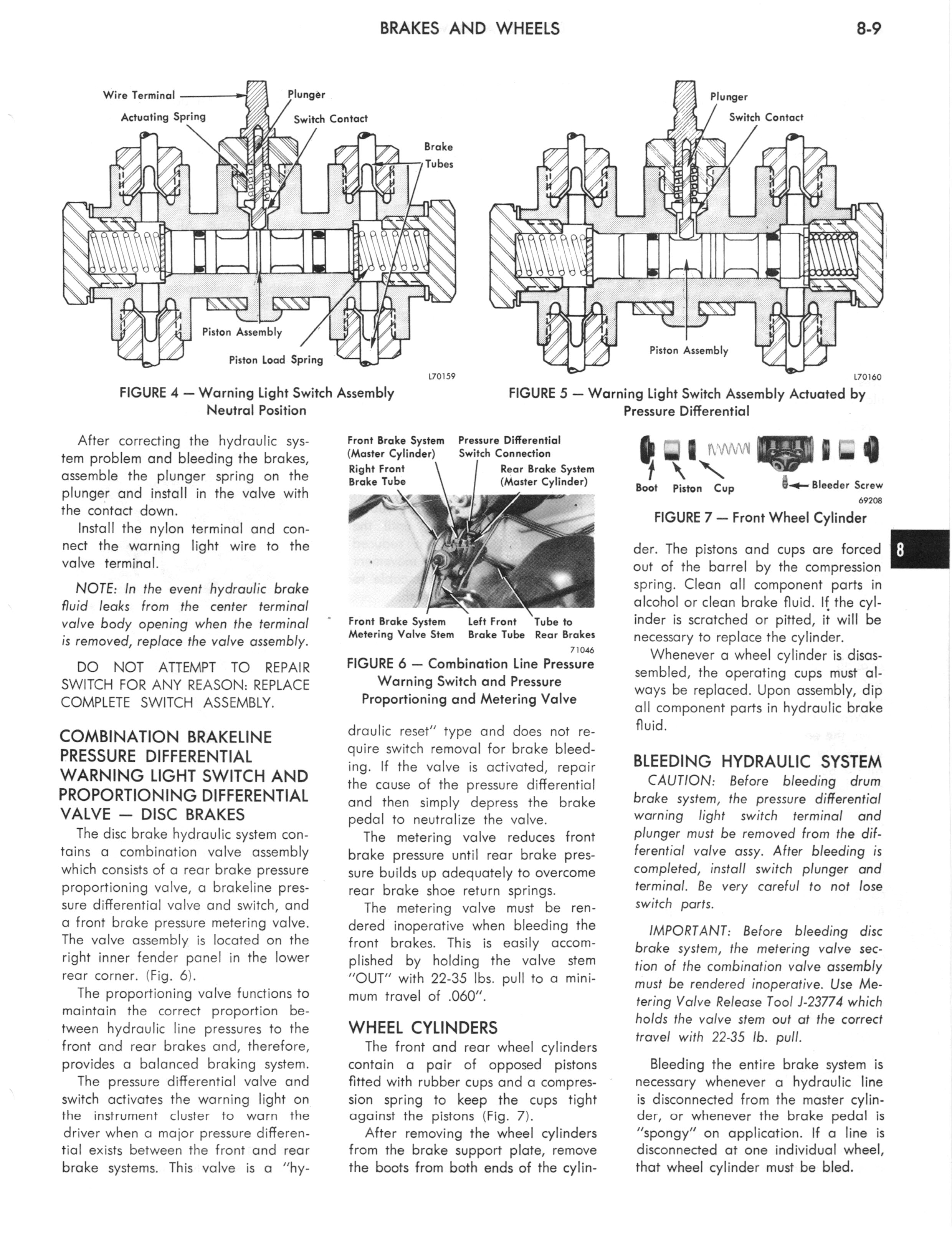 1973 AMC Technical Service Manual page 259 of 487