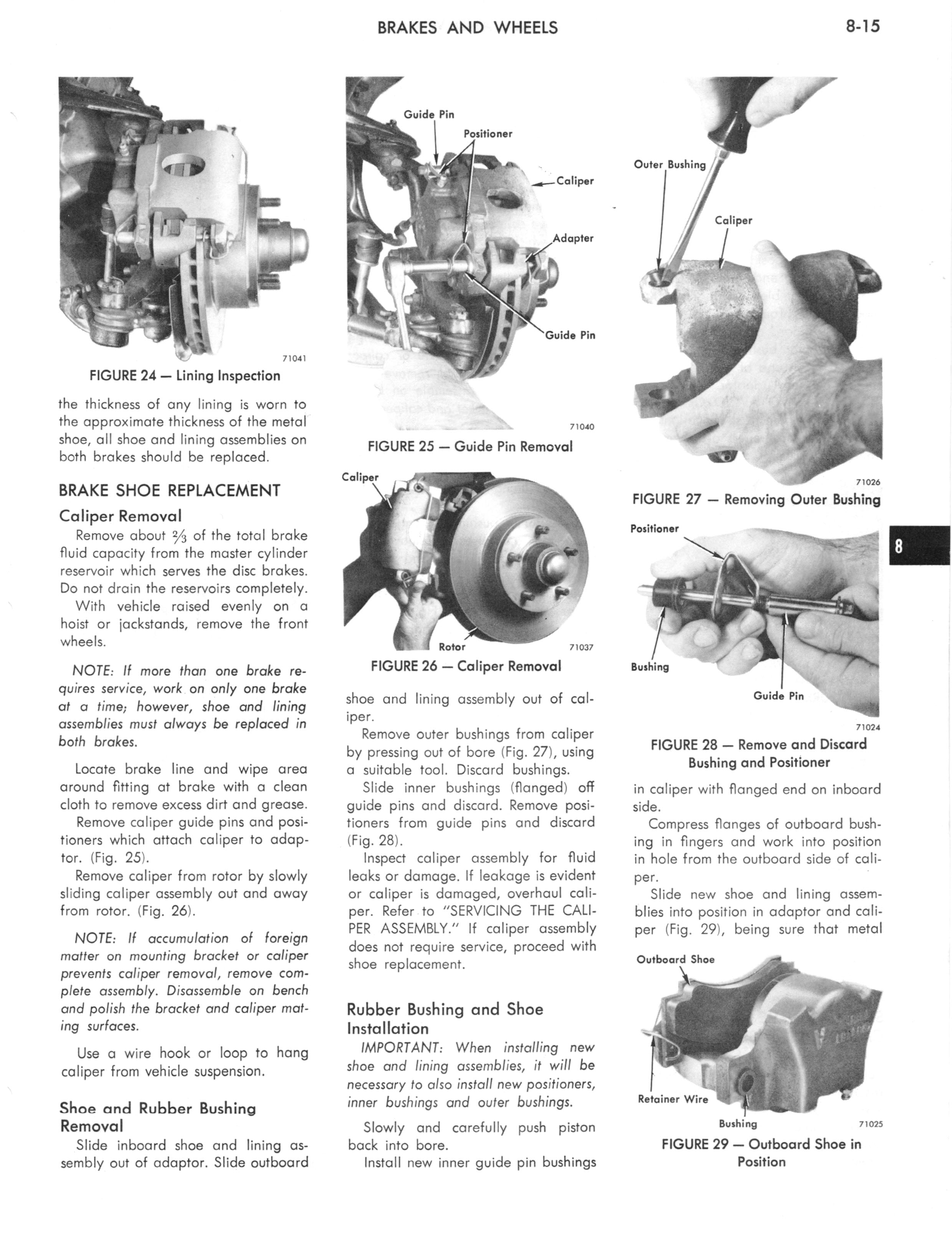 1973 AMC Technical Service Manual page 265 of 487