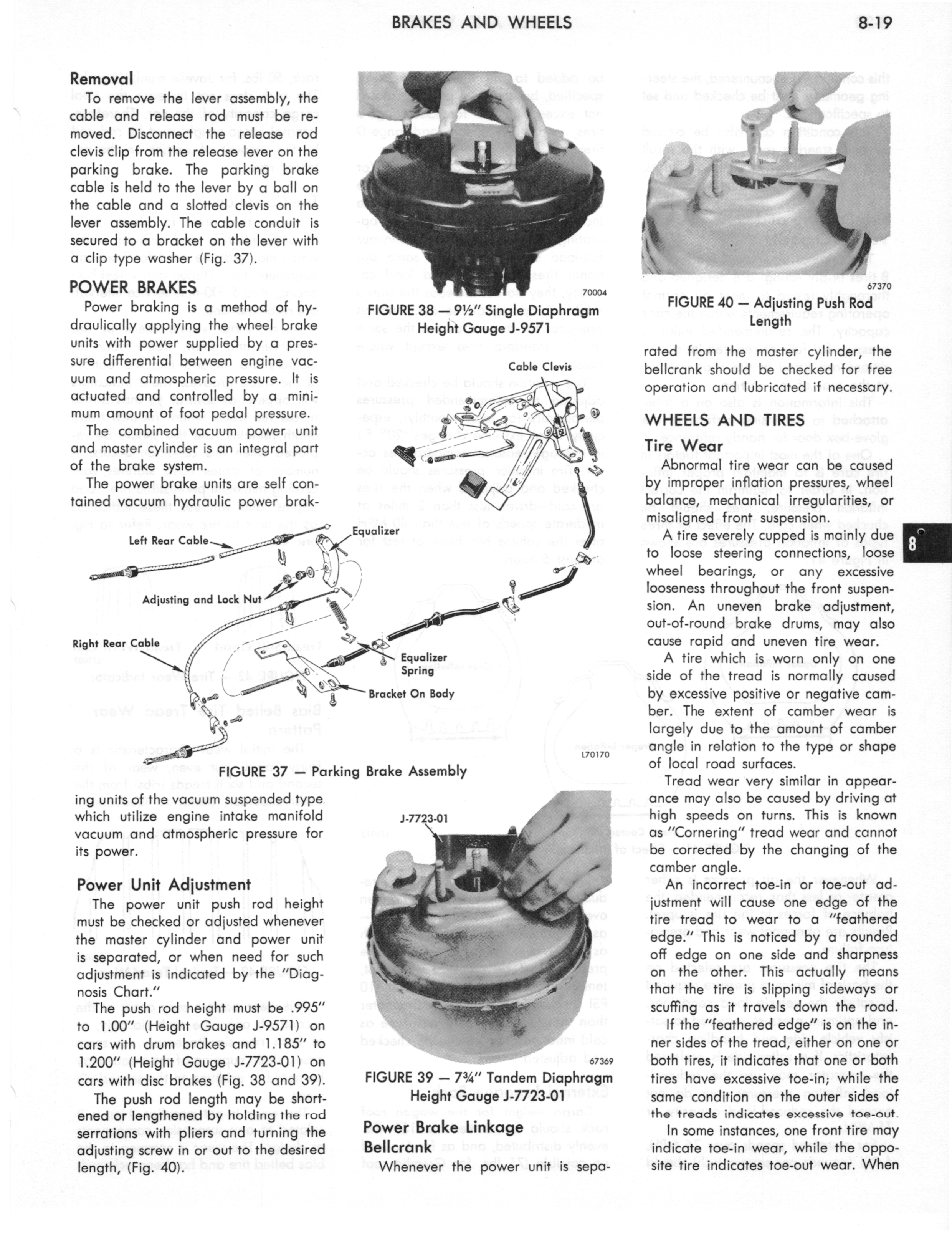 1973 AMC Technical Service Manual page 269 of 487