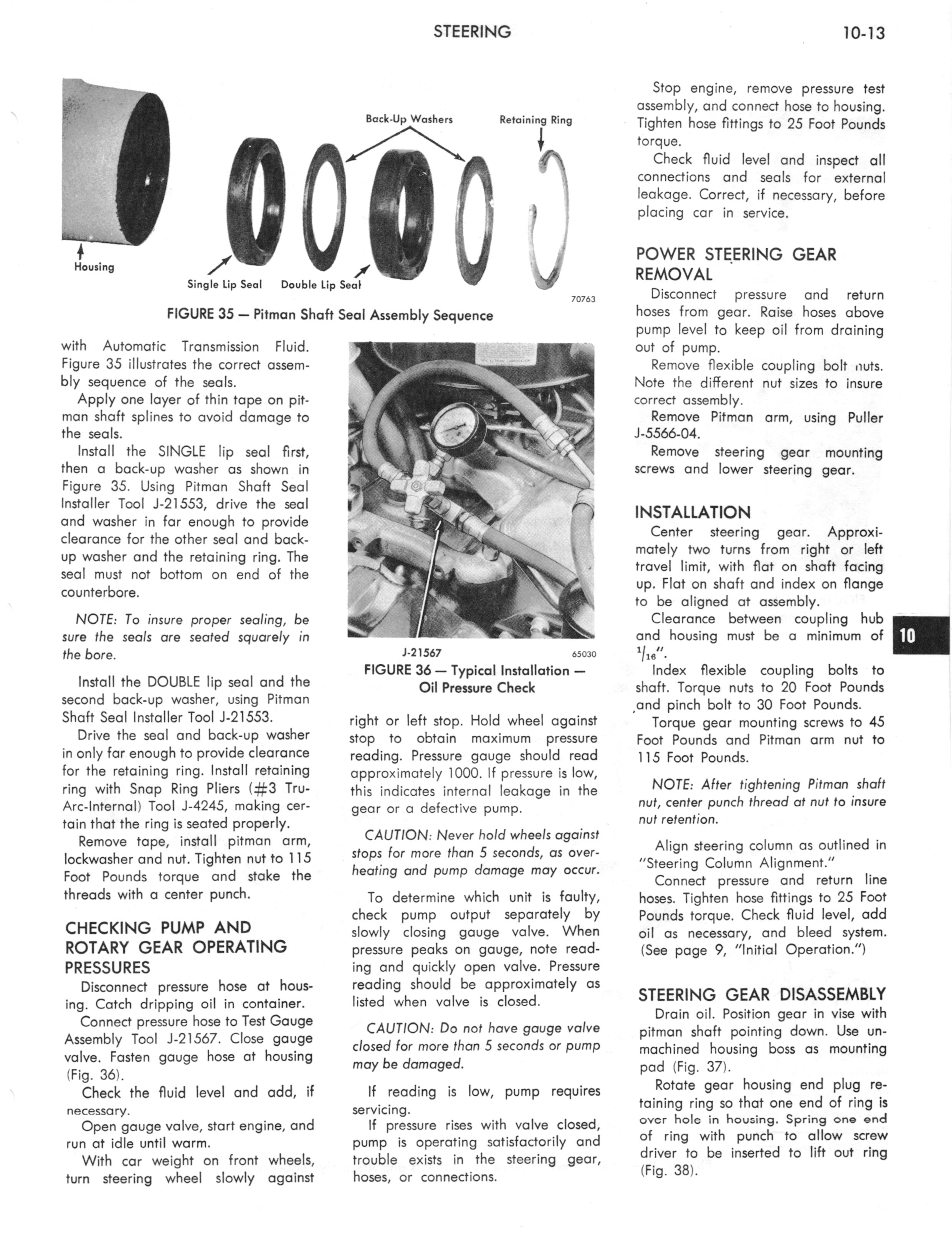 1973 AMC Technical Service Manual page 309 of 487