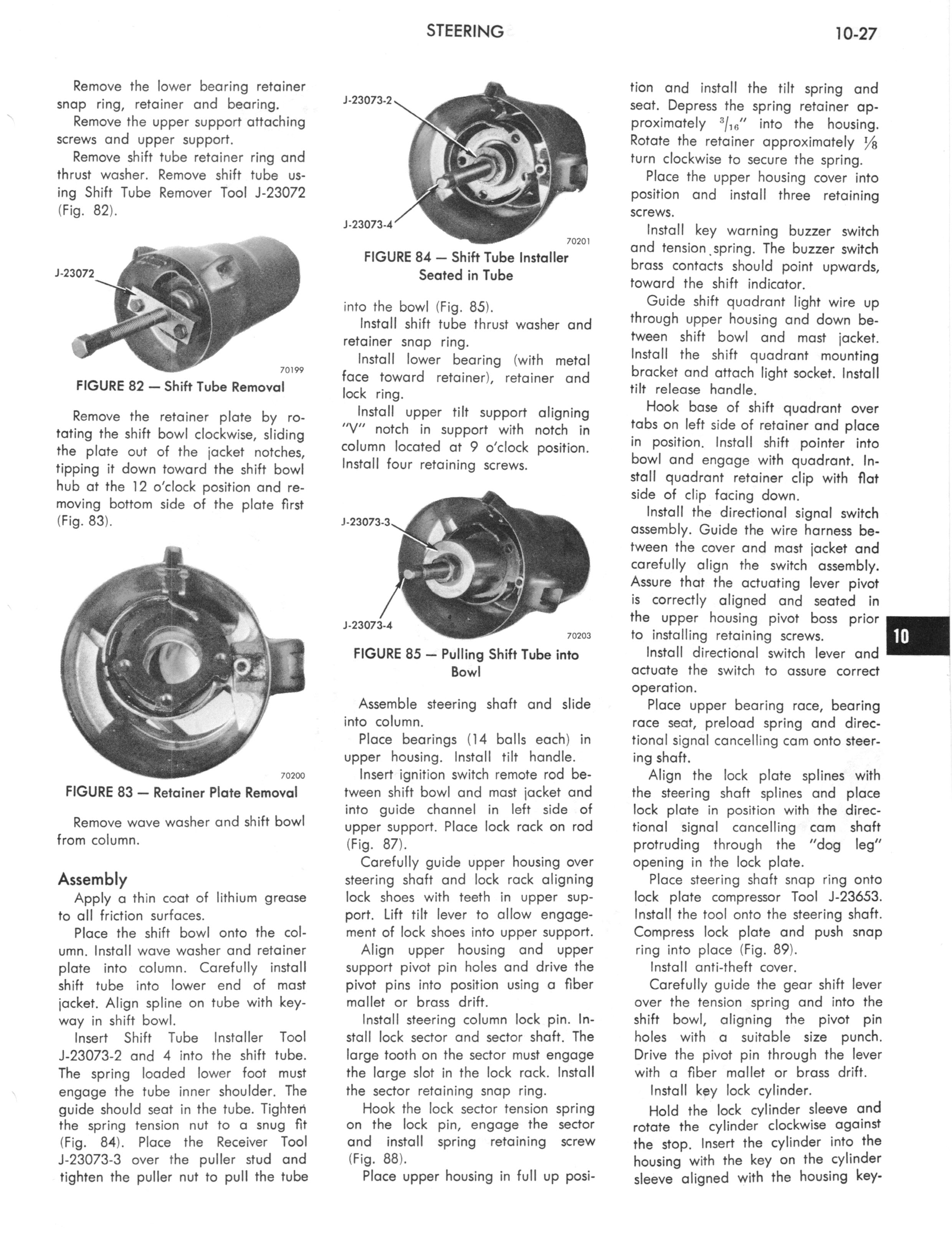 1973 AMC Technical Service Manual page 323 of 487