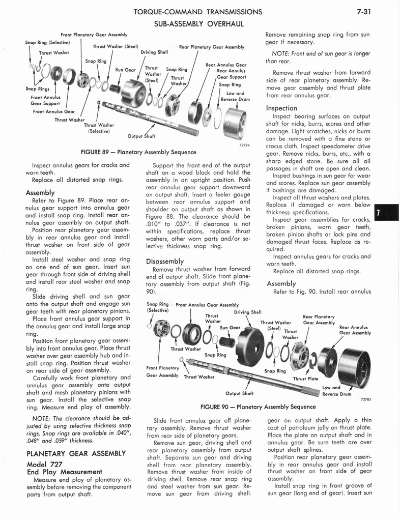 1973 AMC Technical Service Manual page 243 of 487