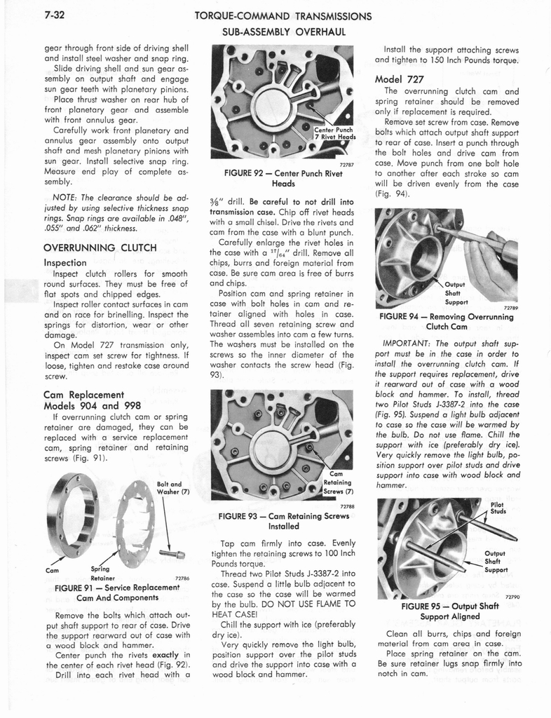 1973 AMC Technical Service Manual page 244 of 487