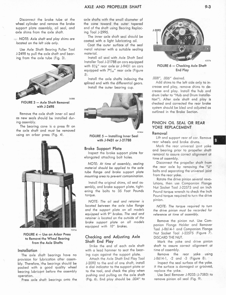 1973 AMC Technical Service Manual page 279 of 487