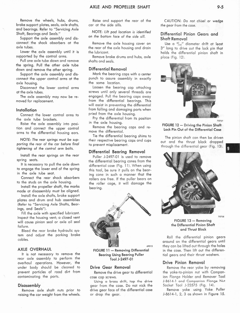 1973 AMC Technical Service Manual page 281 of 487