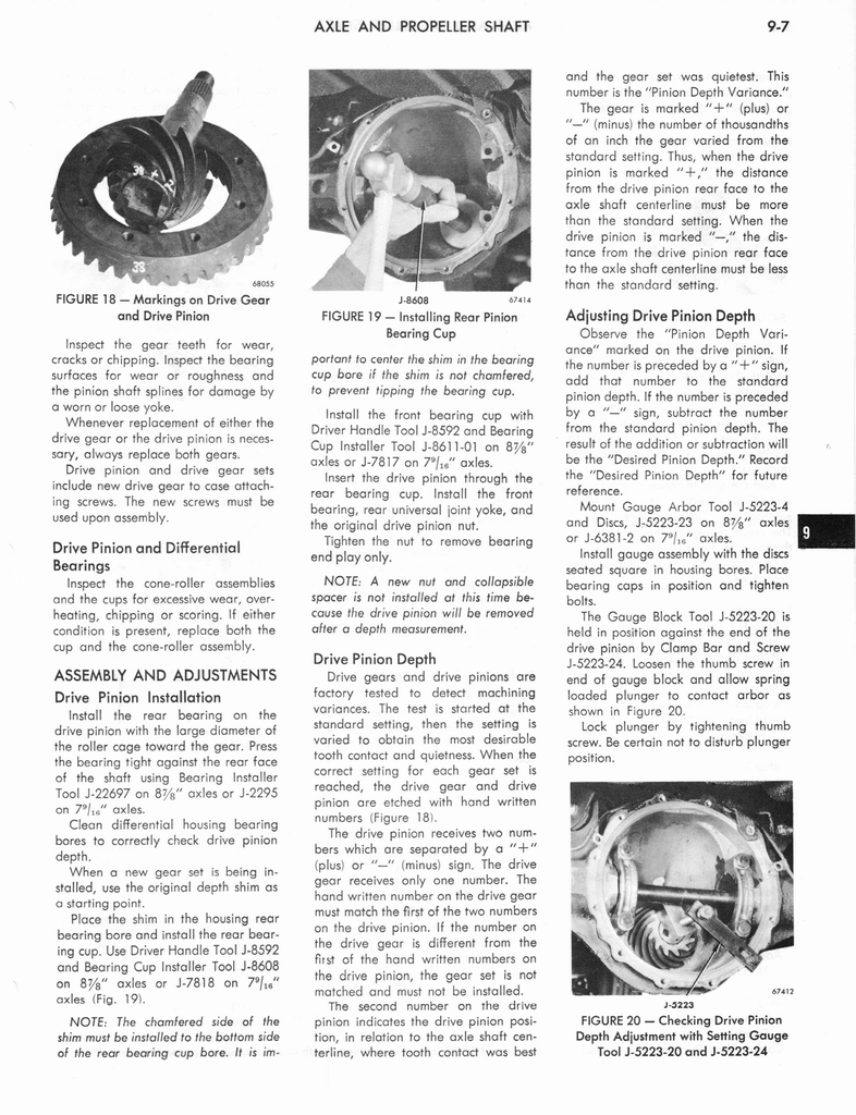 1973 AMC Technical Service Manual page 283 of 487