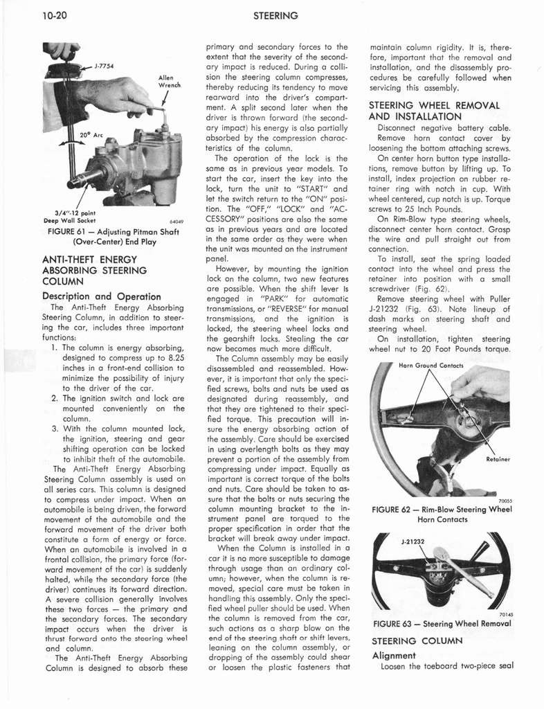 1973 AMC Technical Service Manual page 316 of 487