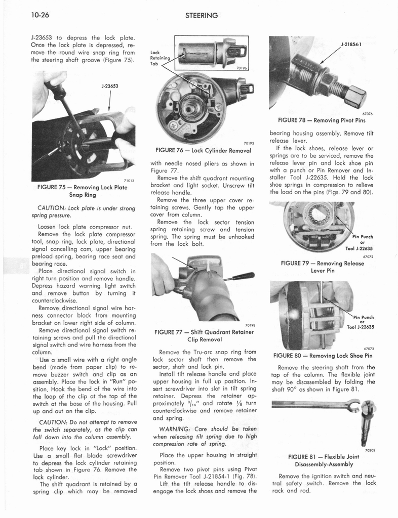 1973 AMC Technical Service Manual page 322 of 487