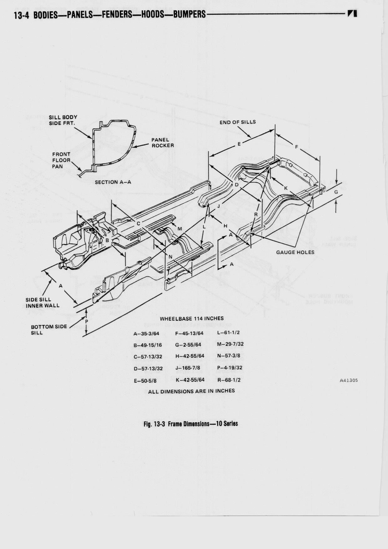 13 Bodies Panels fenders Hoods / 1976 AMC Technical