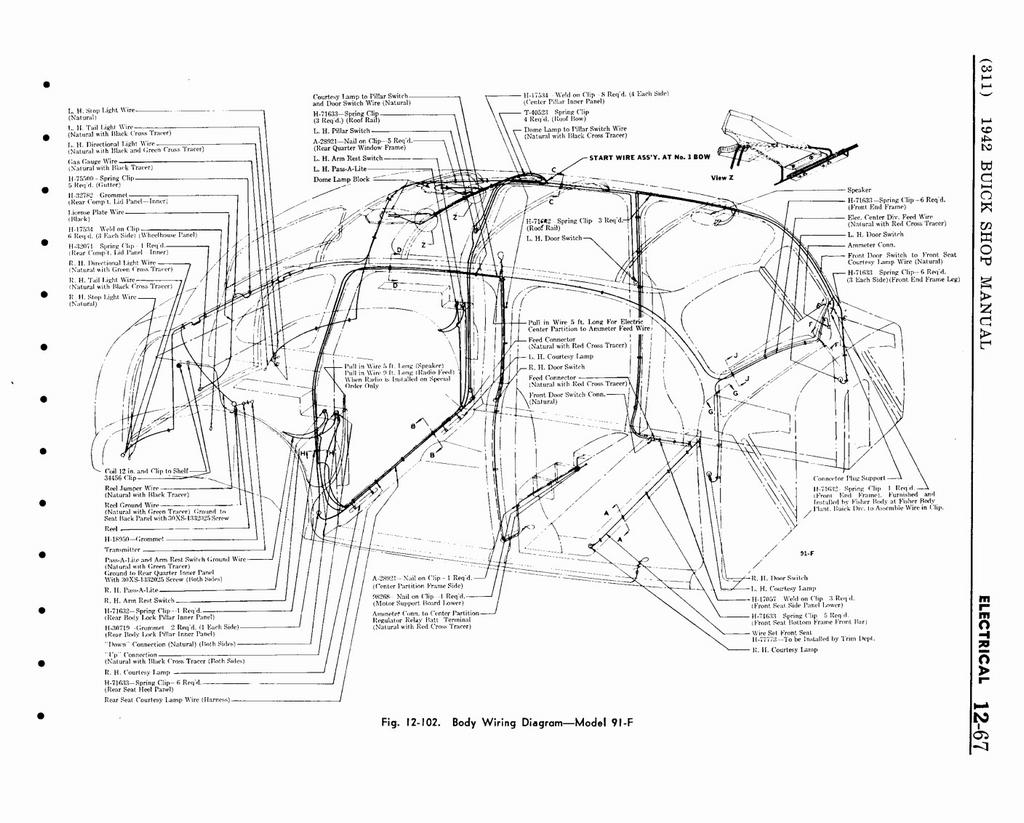 Wiring Diagram PDF: 1941 Buick Wiring Diagram
