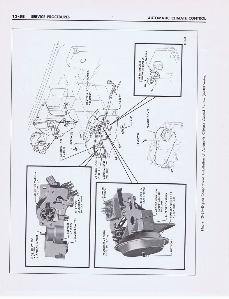 1967 Buick Automatic Climate Control (Second Type) page 58