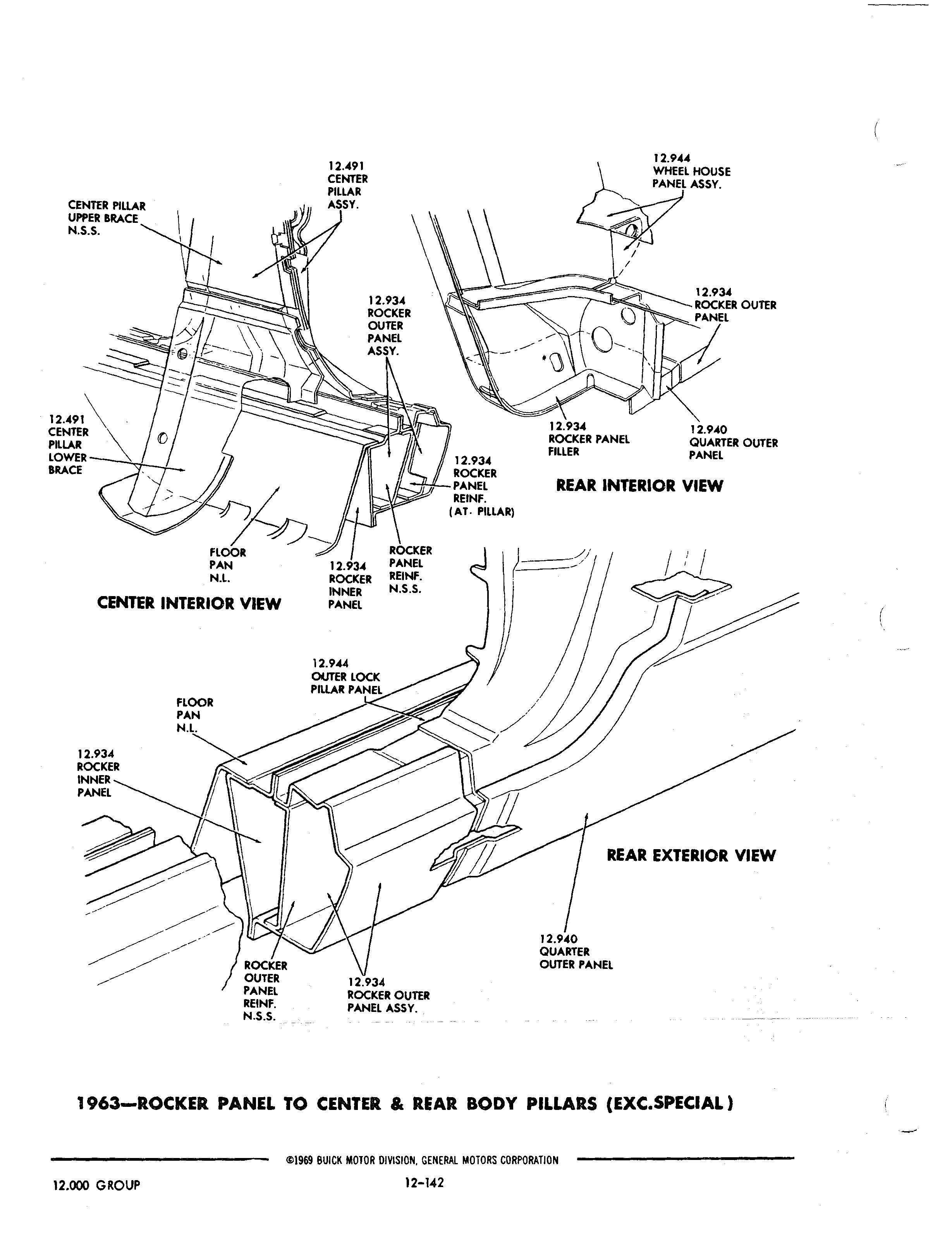 Buick 1940-1972 Parts illustrations / Buick Chassis And