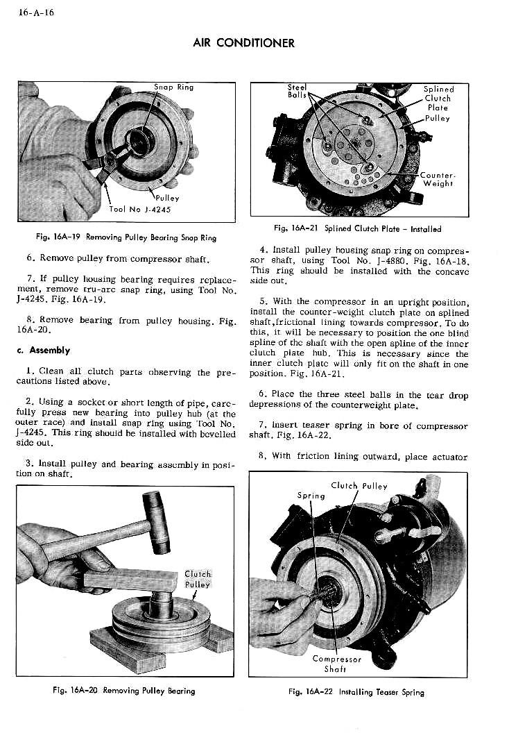1954 Cadillac Shop Manual