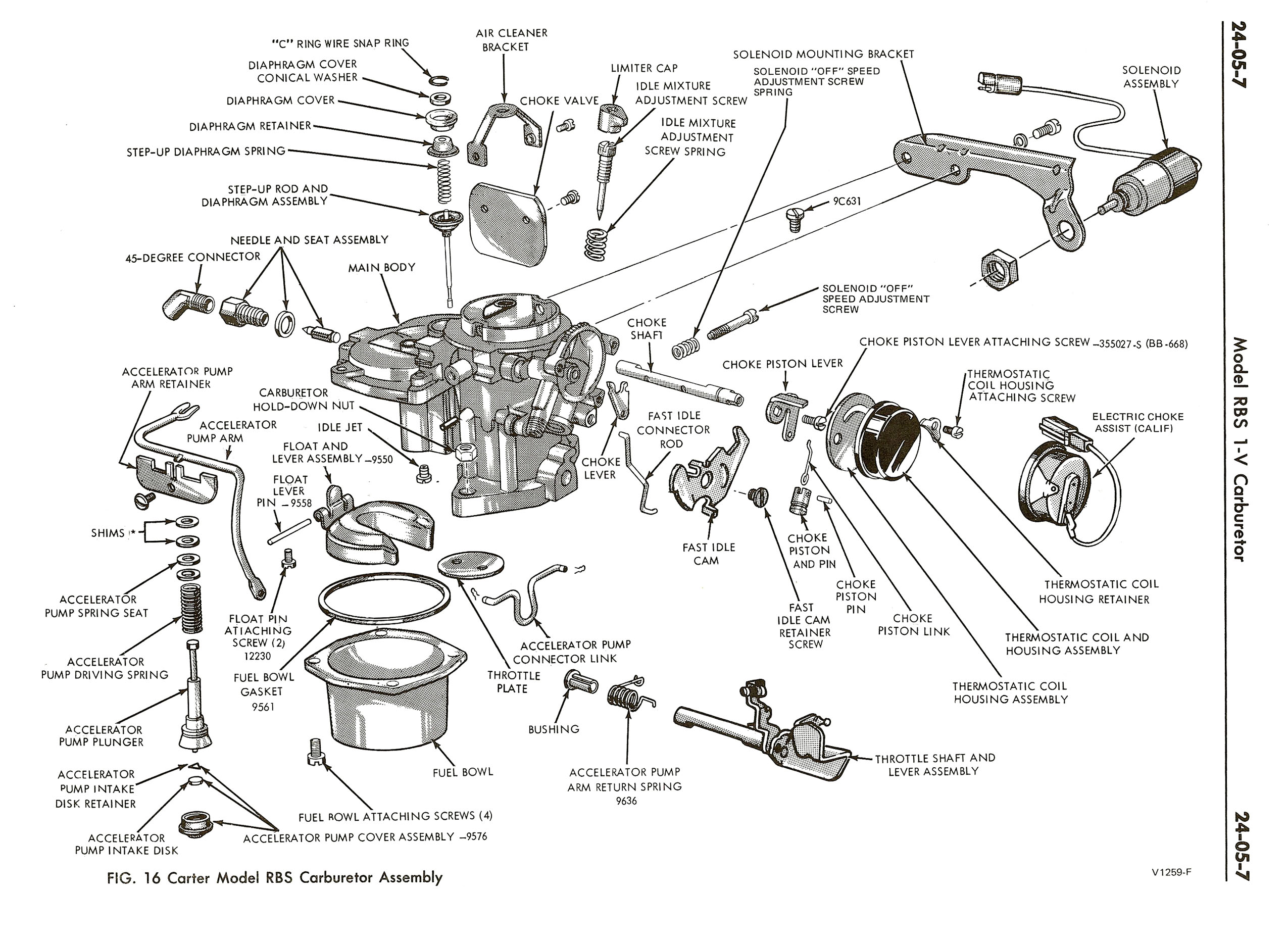 1974 Ford Carter RBS Carburetor Manual / 1974FordRBS0007.jpg