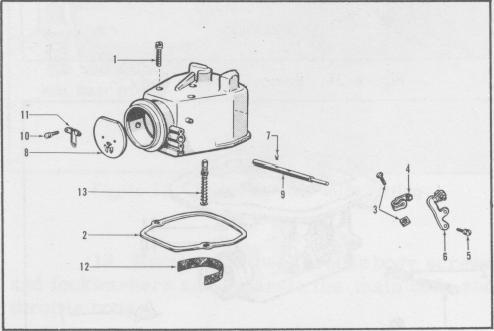 Holley 885 / 885FFG carb manual