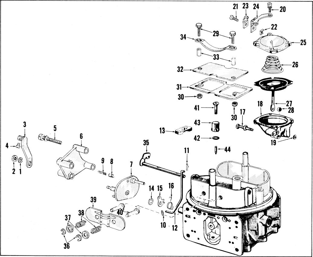 2300 2300g 2300mg exploded diagrams the old car manual project