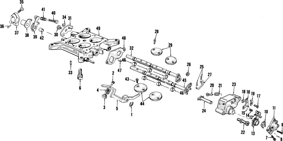 Holley 4150 Manual Choke Diagram