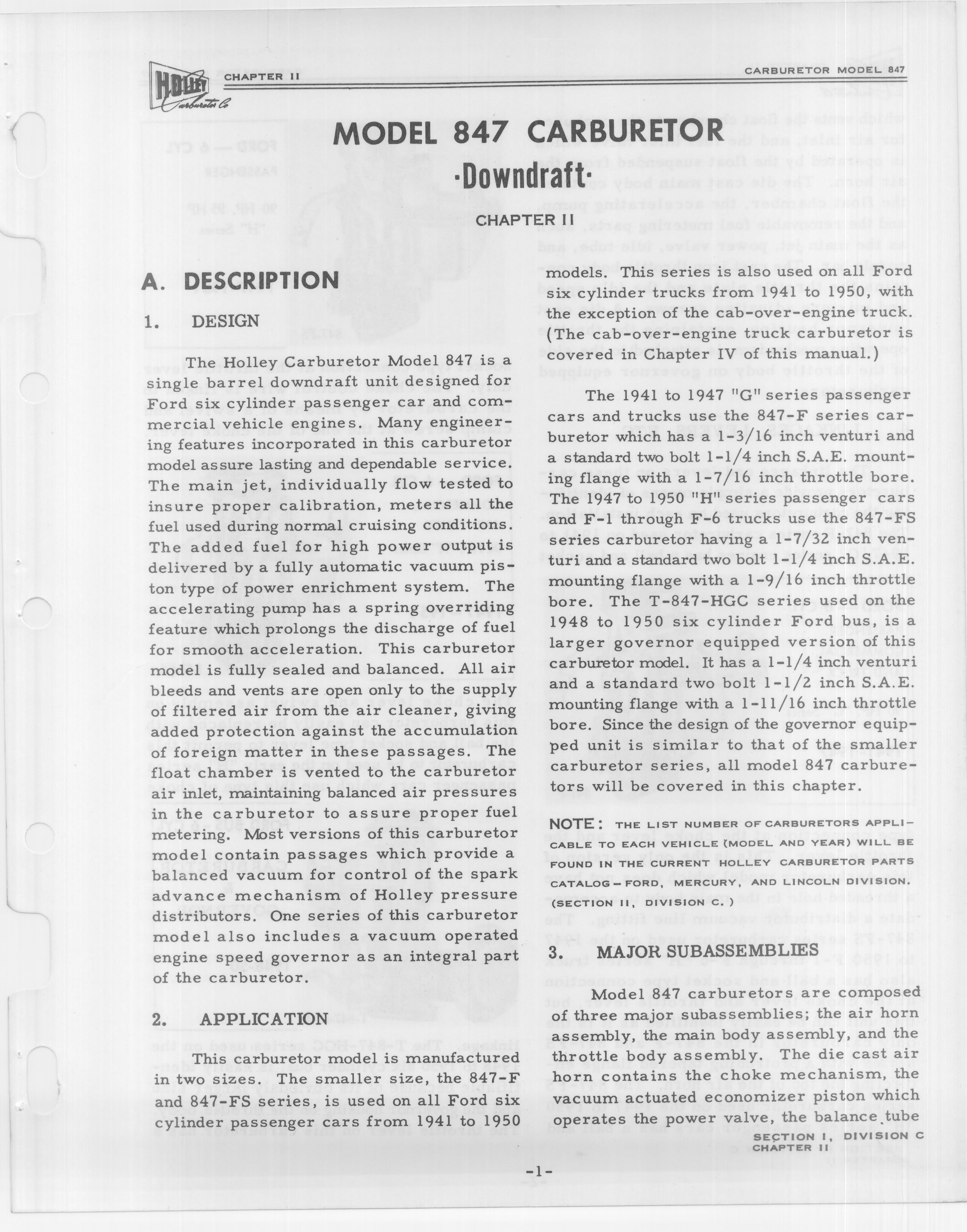 Holley 847 Downdraft Service Manual / H847-19500005.jpg