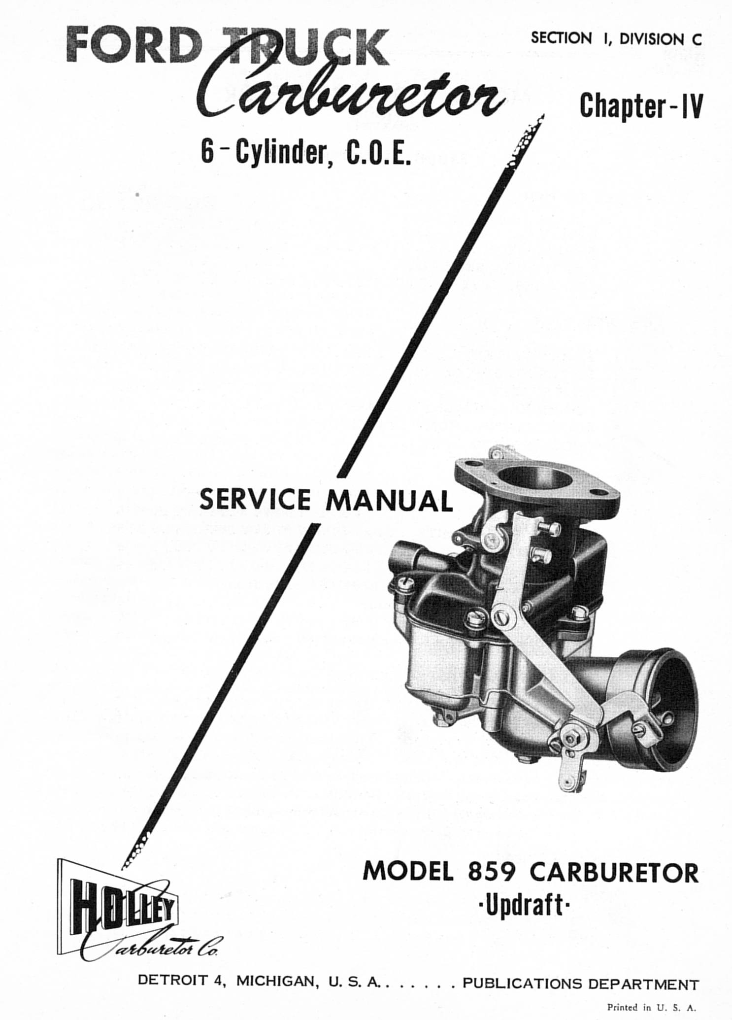 The Old Car Manual Project: Manuals and tech info online