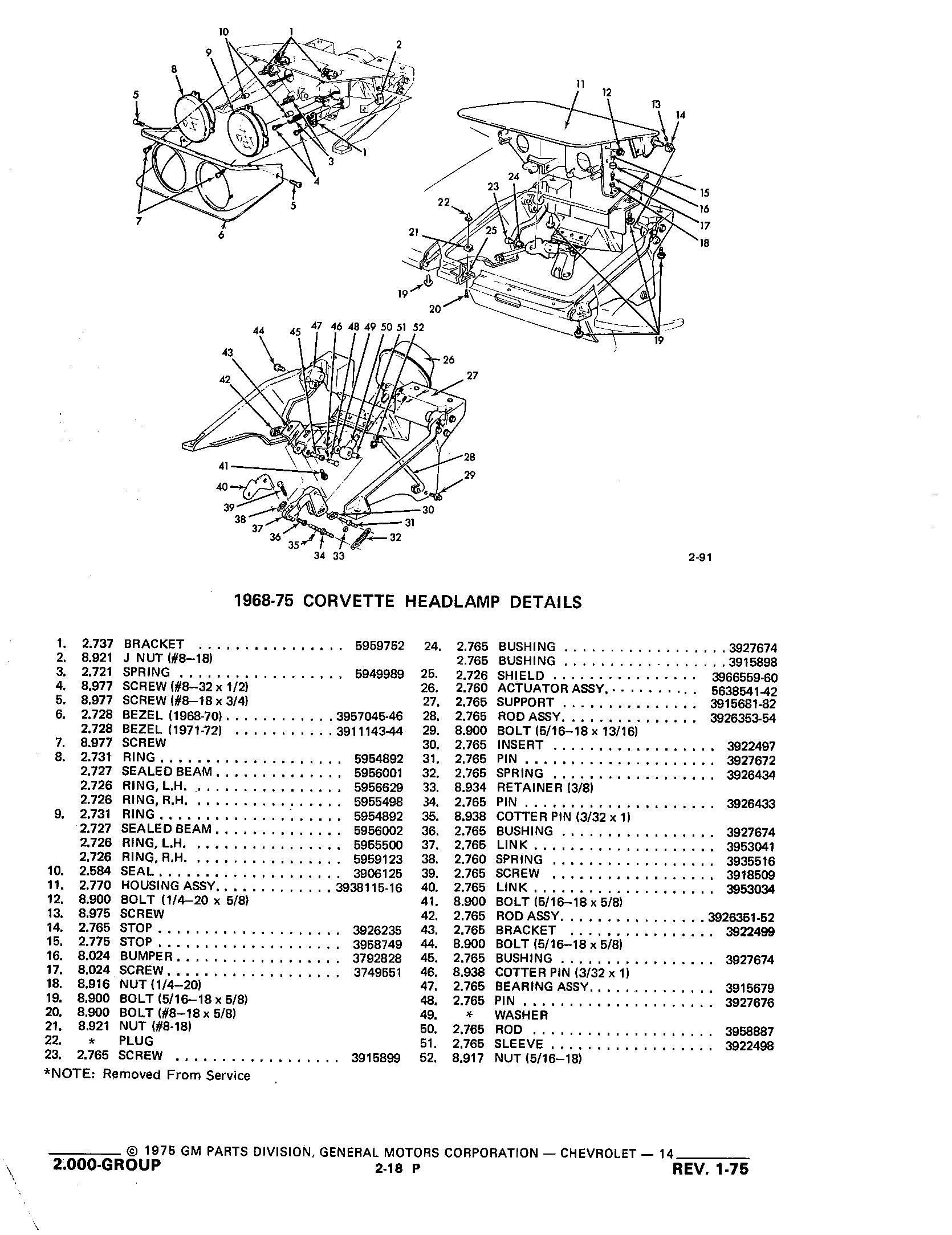 Group2 Chassis Electrical System / 1953-1973 Corvette