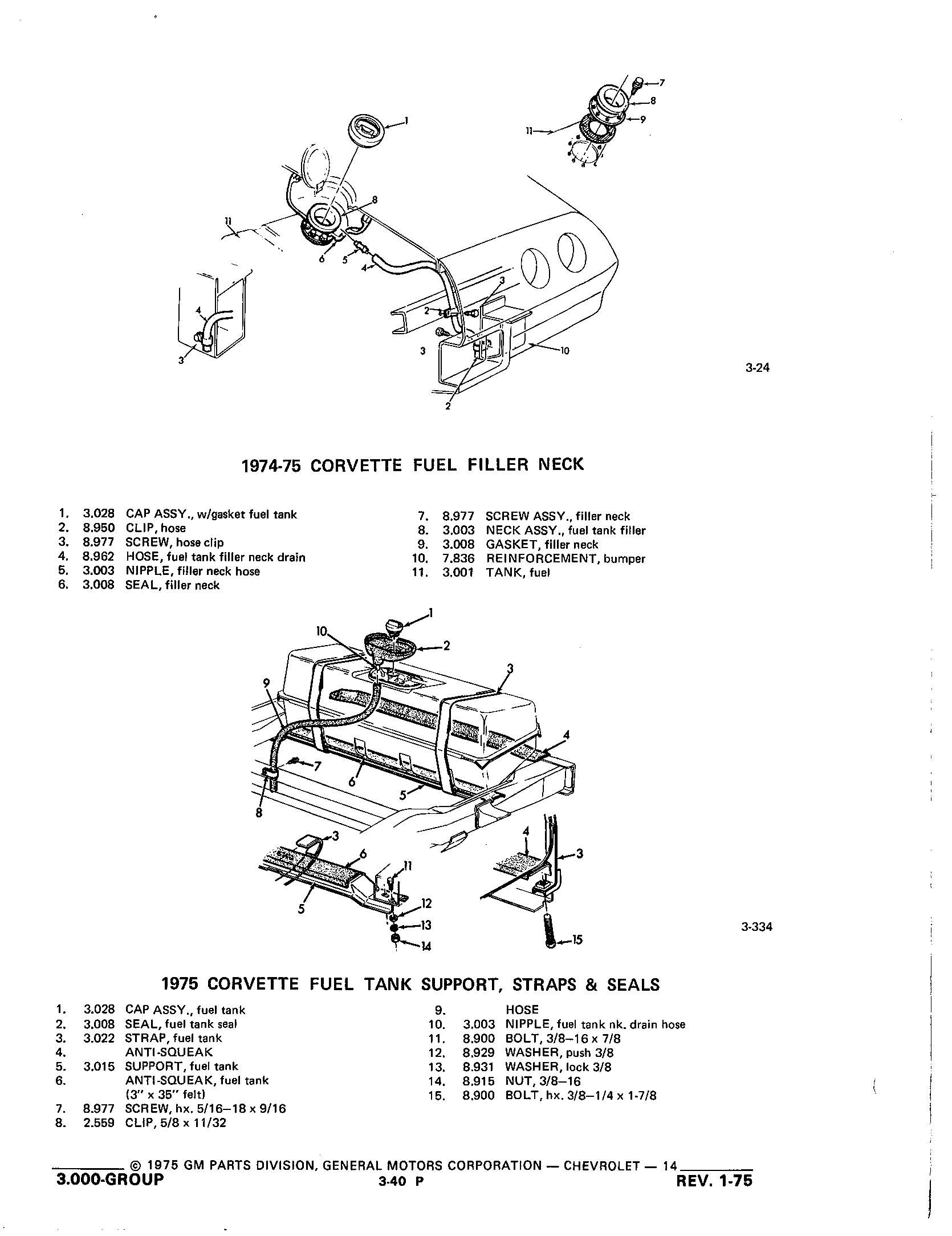 Group3 Fuel Exhaust Carburetion / 1953-1973 Corvette Parts