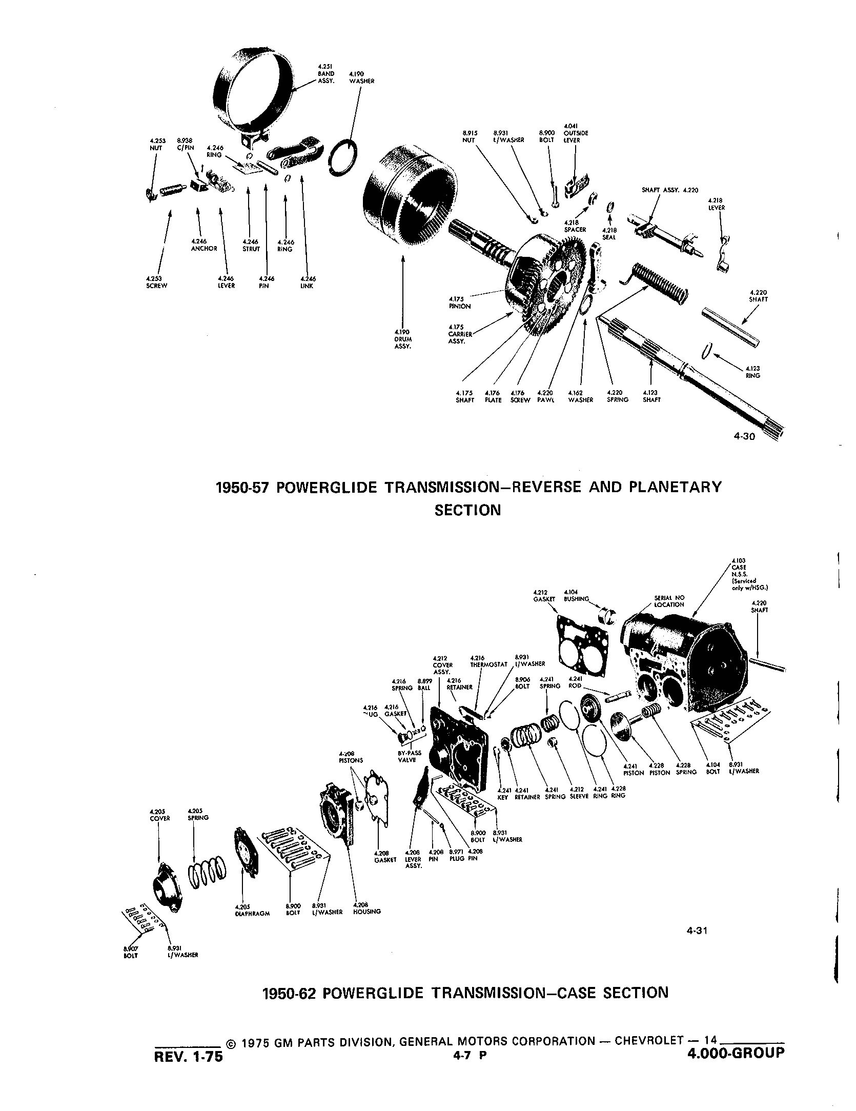 Group4 Transmission / 1953-1973 Corvette Parts and