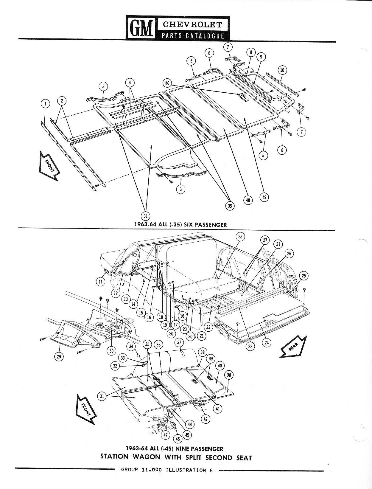 1958-1968 Chevrolet Parts Catalog / Image149.jpg