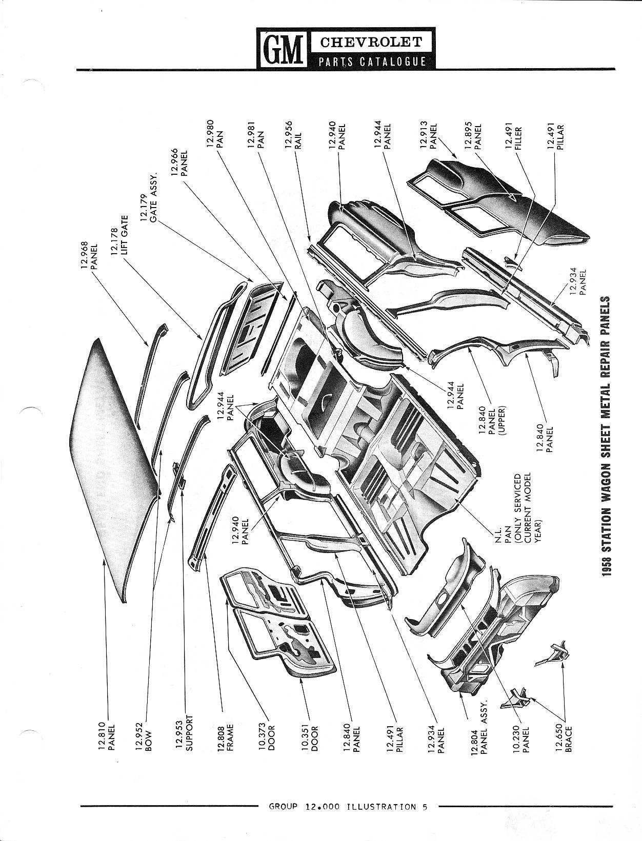 1958-1968 Chevrolet Parts Catalog / Image161.jpg