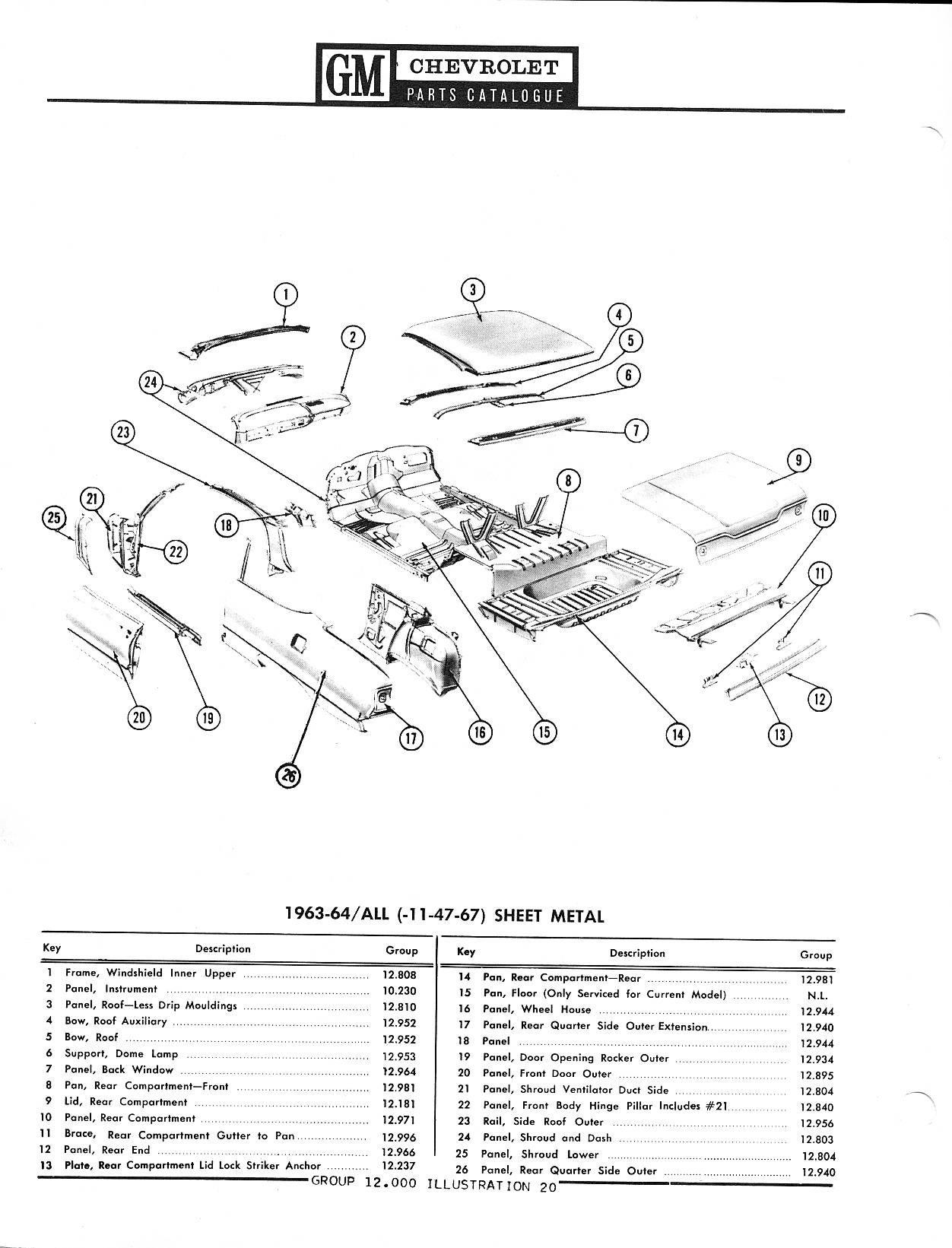 1958-1968 Chevrolet Parts Catalog / Image176.jpg