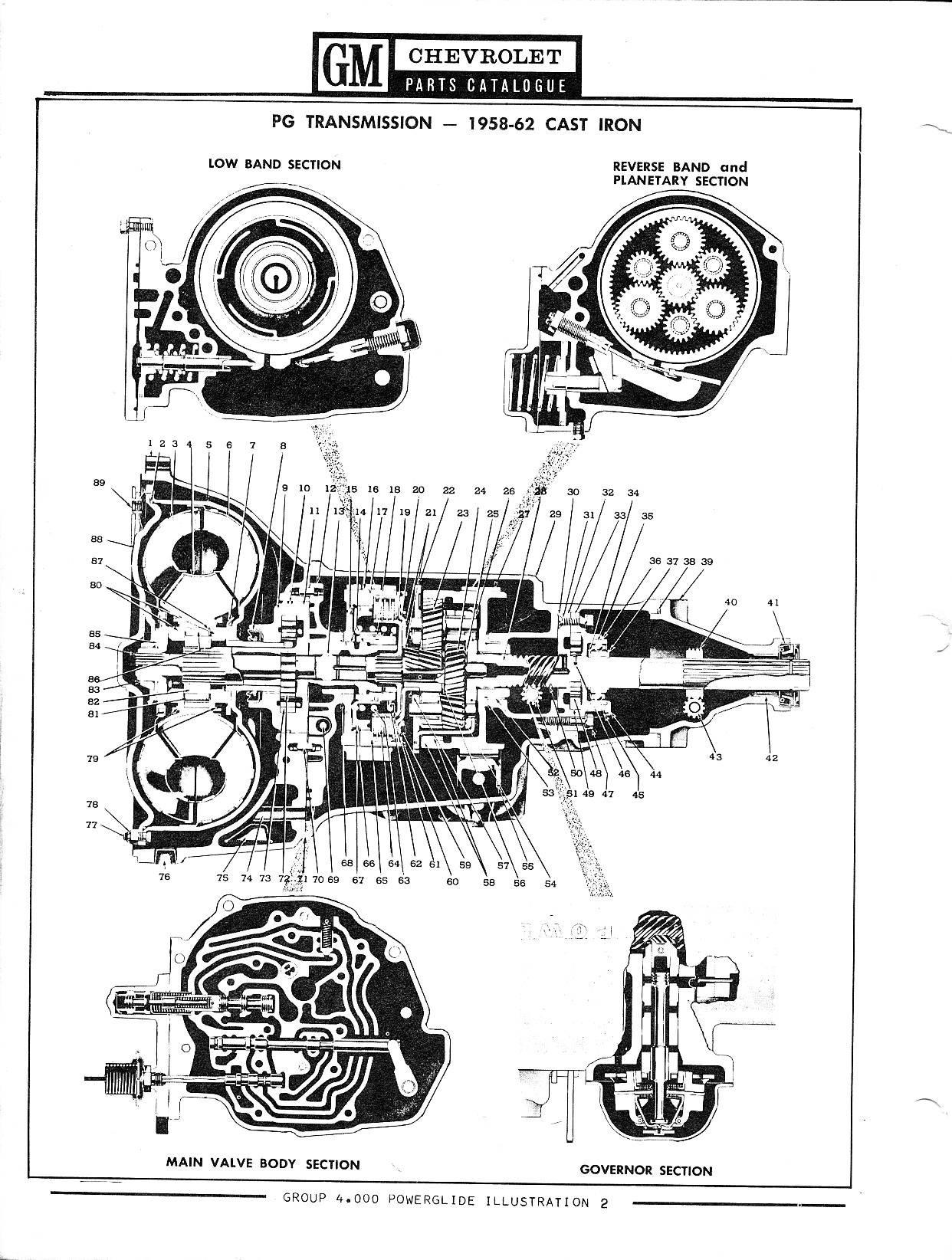 1958 Cadillac Vacuum Diagram. Cadillac. Auto Wiring Diagram