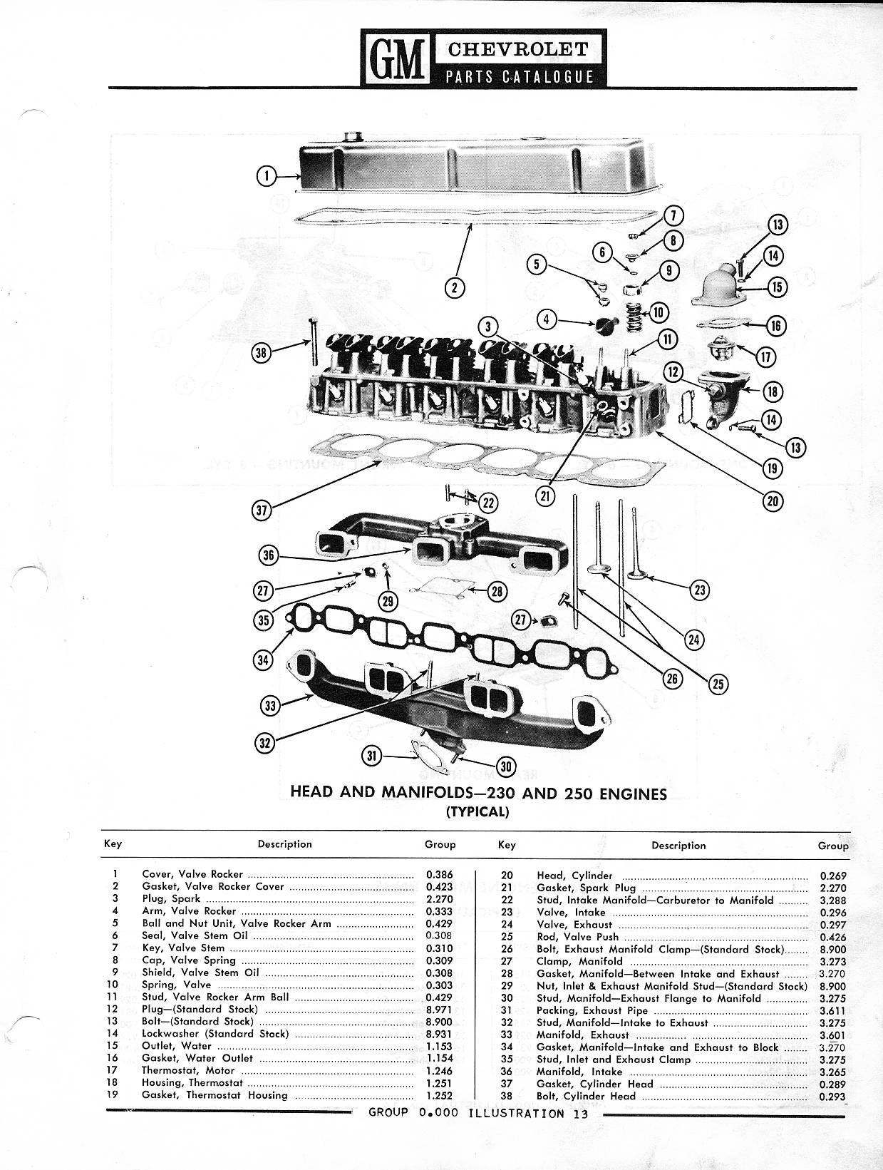 Gm Engine Parts Catalog, Gm, Free Engine Image For User