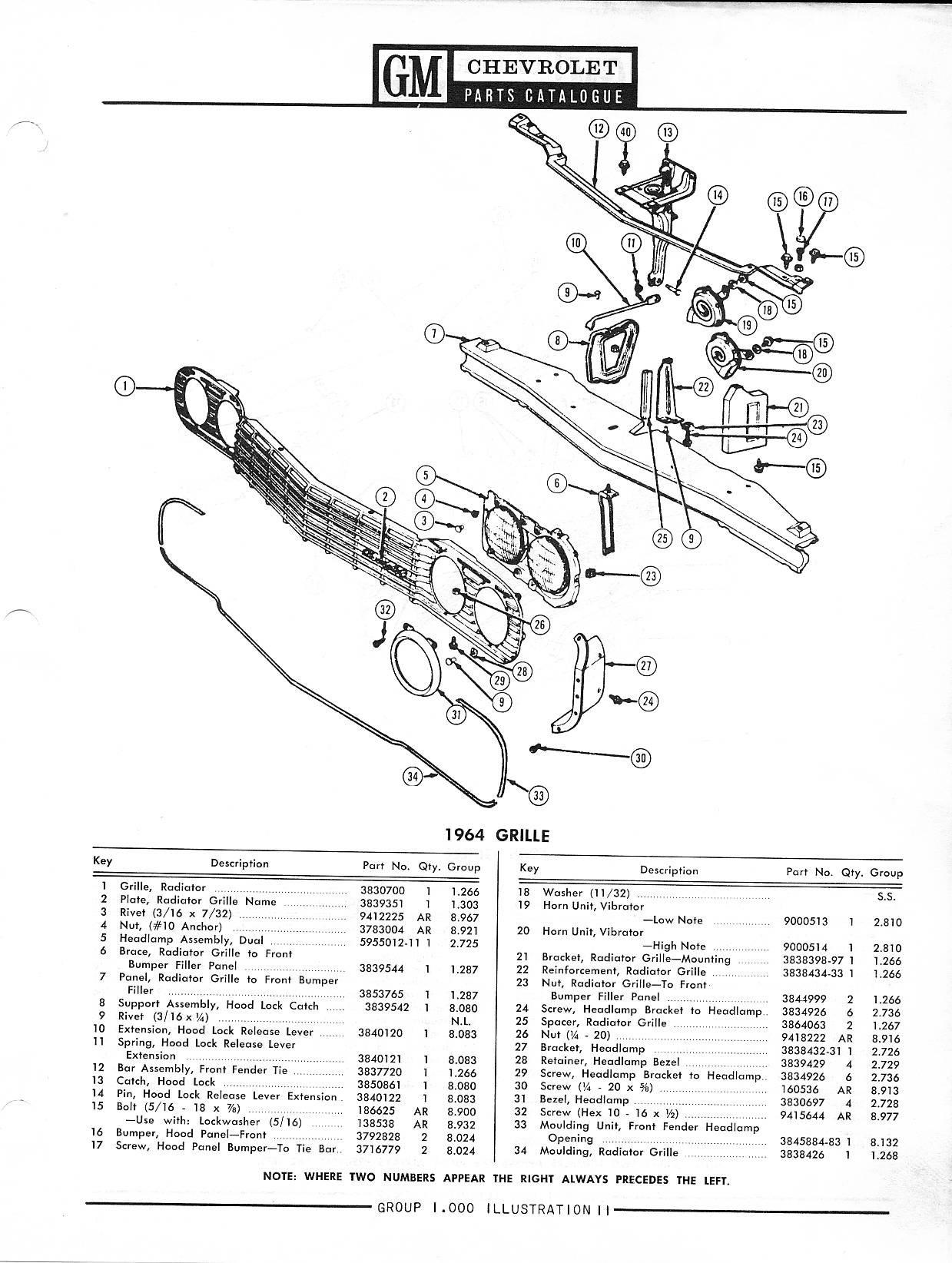1958-1968 Chevrolet Parts Catalog / Image147.jpg