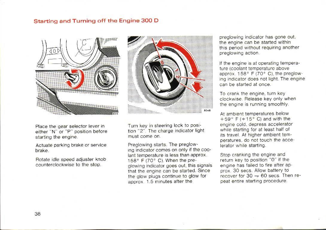 1976 Mercedes 240D/300D Owner's Manual / page_38.jpg