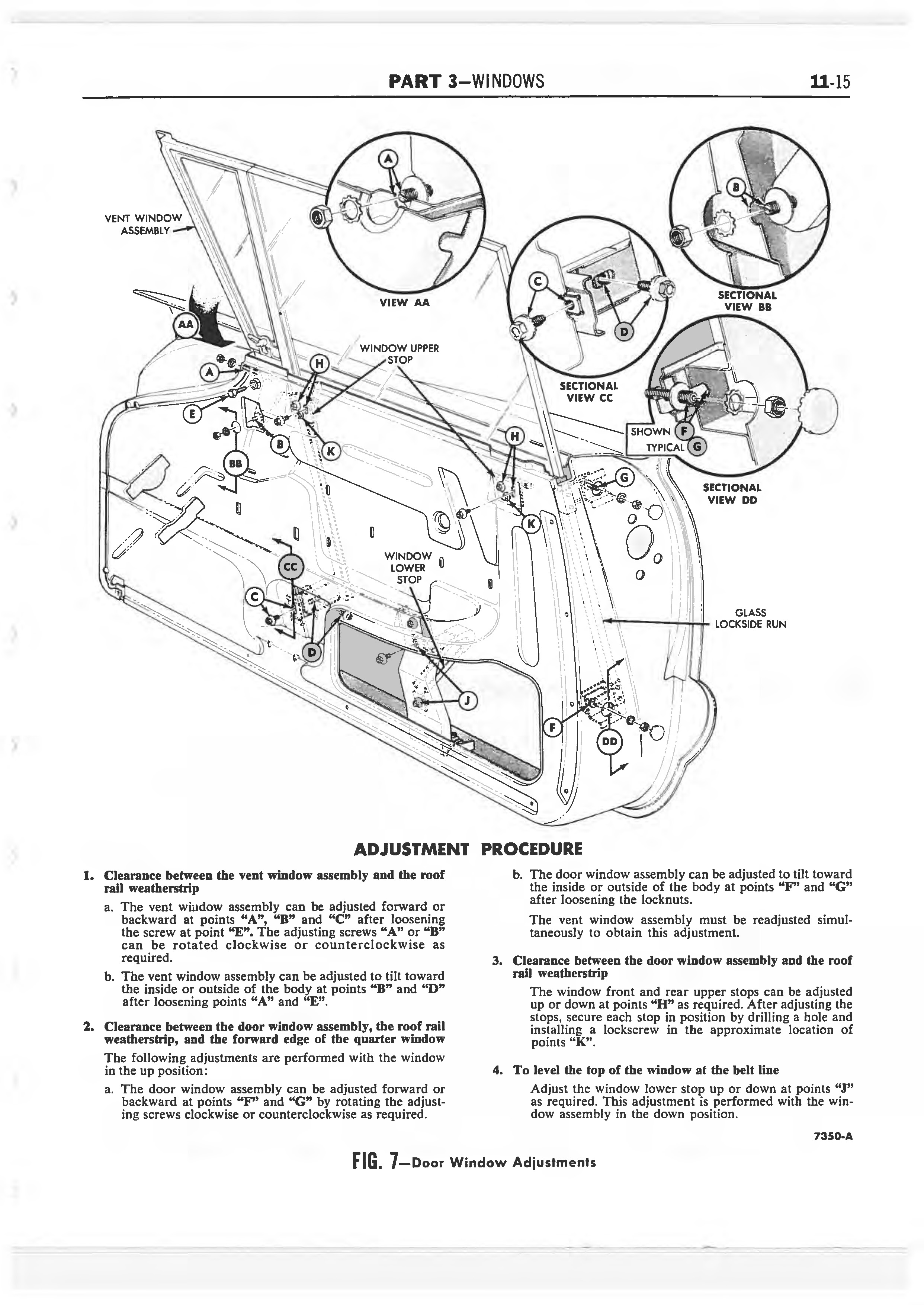 1958 Ford Thunderbird Shop Manual page 328 of 360