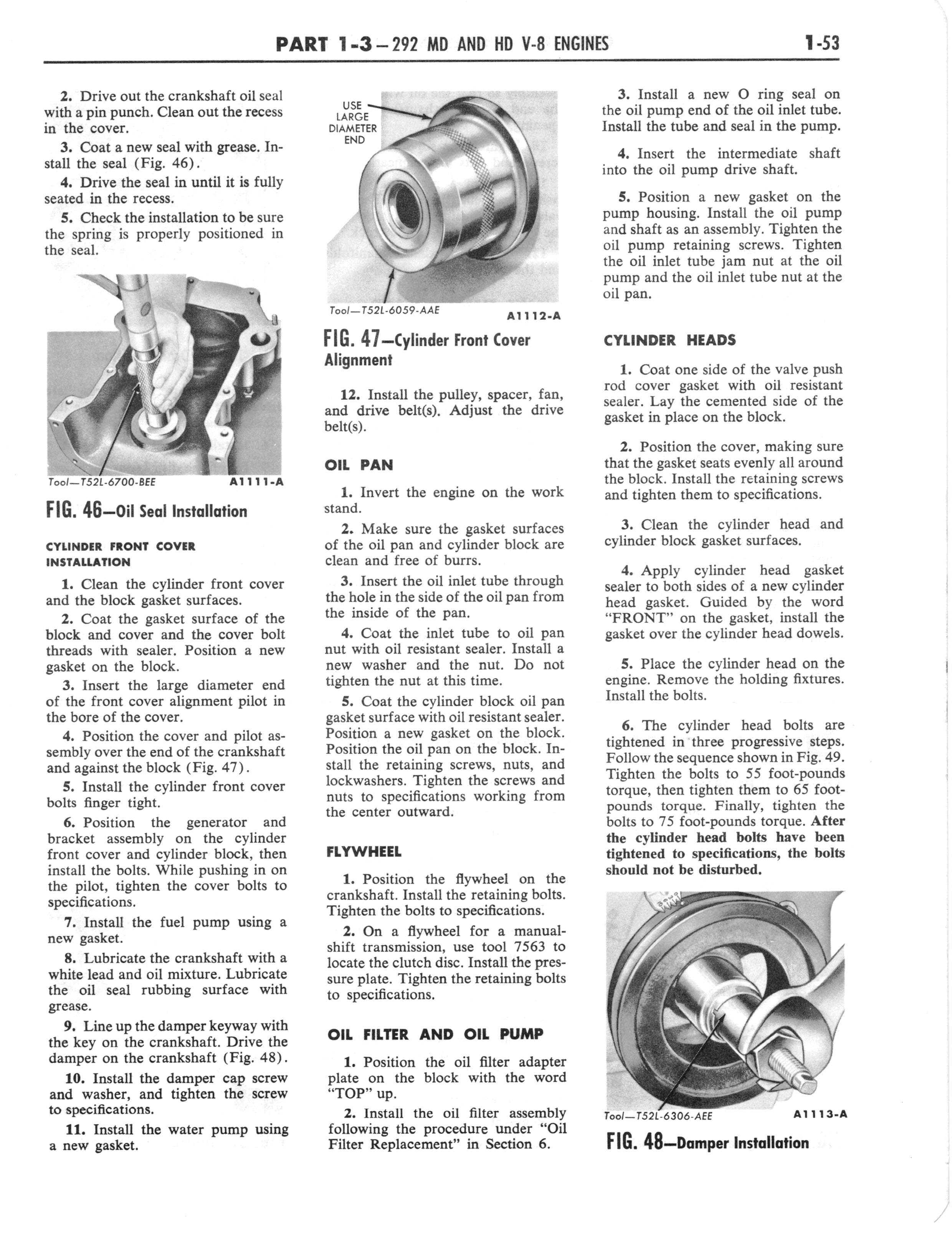 1960 Ford and Mercury Truck Shop Manual page 62 of 641
