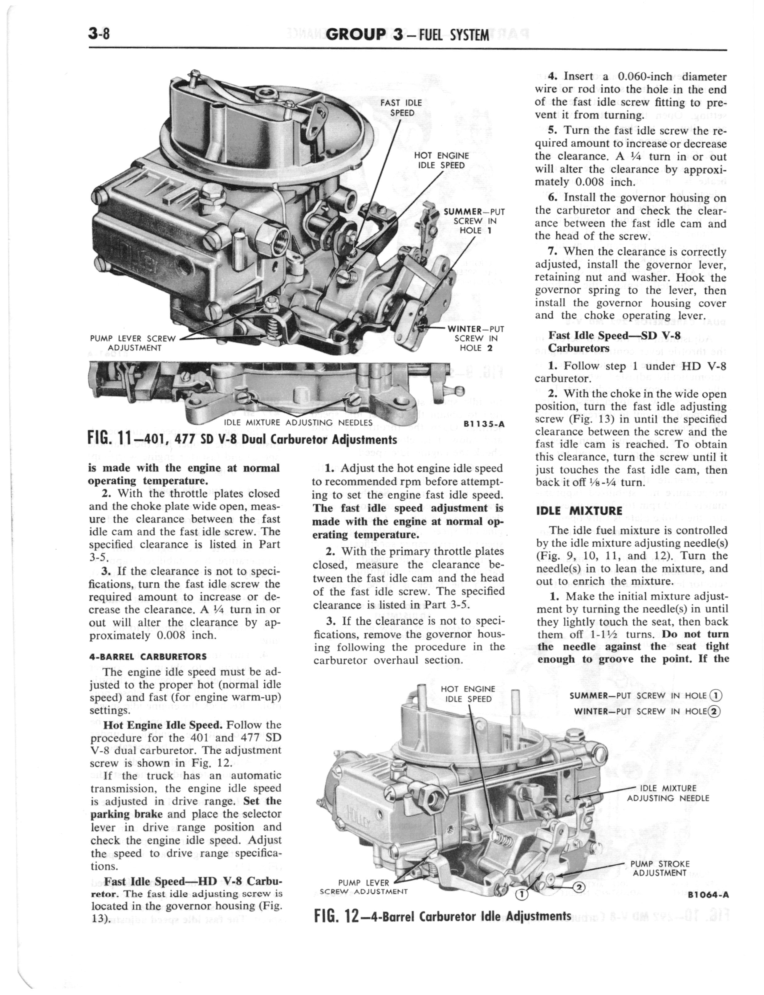 1960 Ford and Mercury Truck Shop Manual page 147 of 641