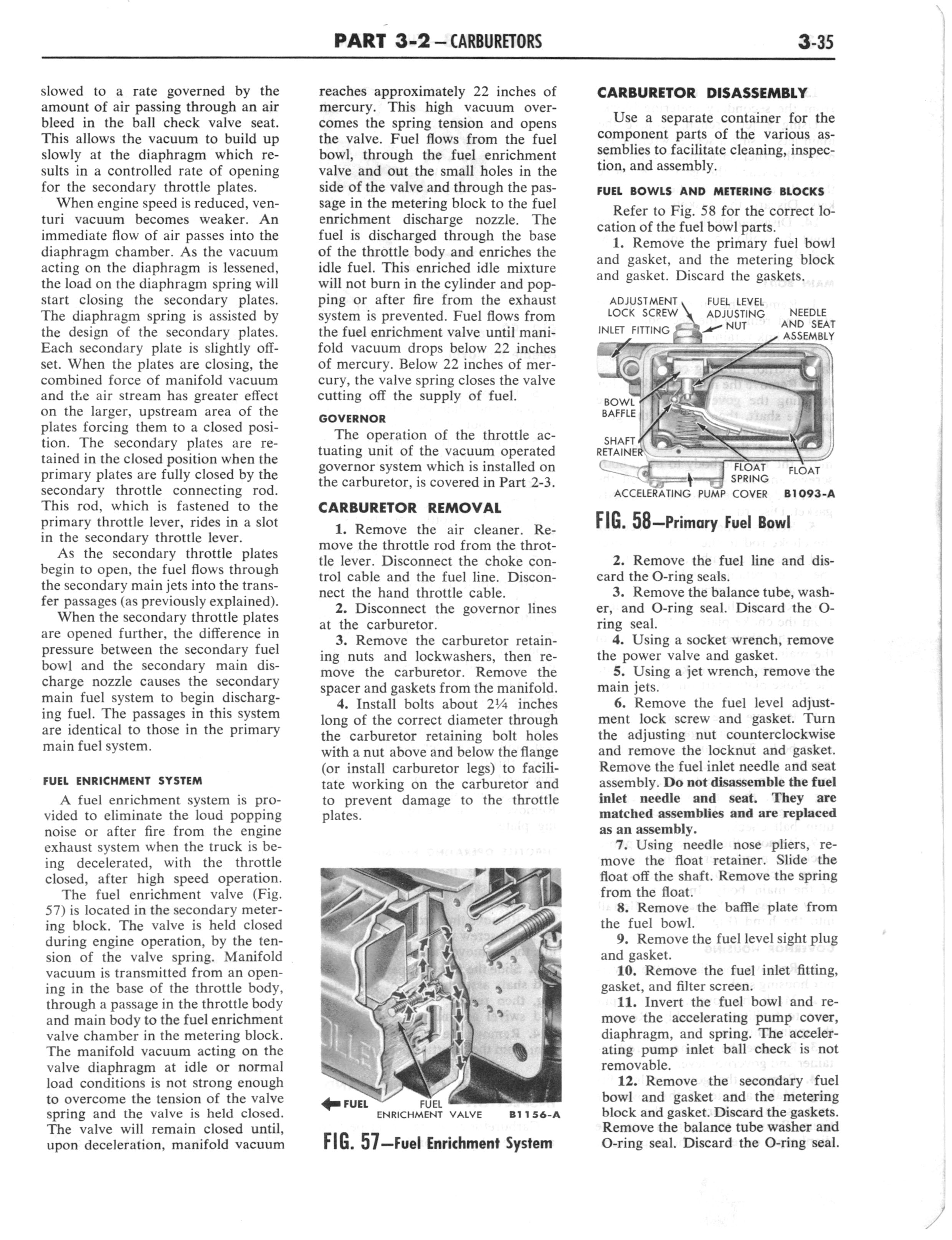 1960 Ford and Mercury Truck Shop Manual page 174 of 641
