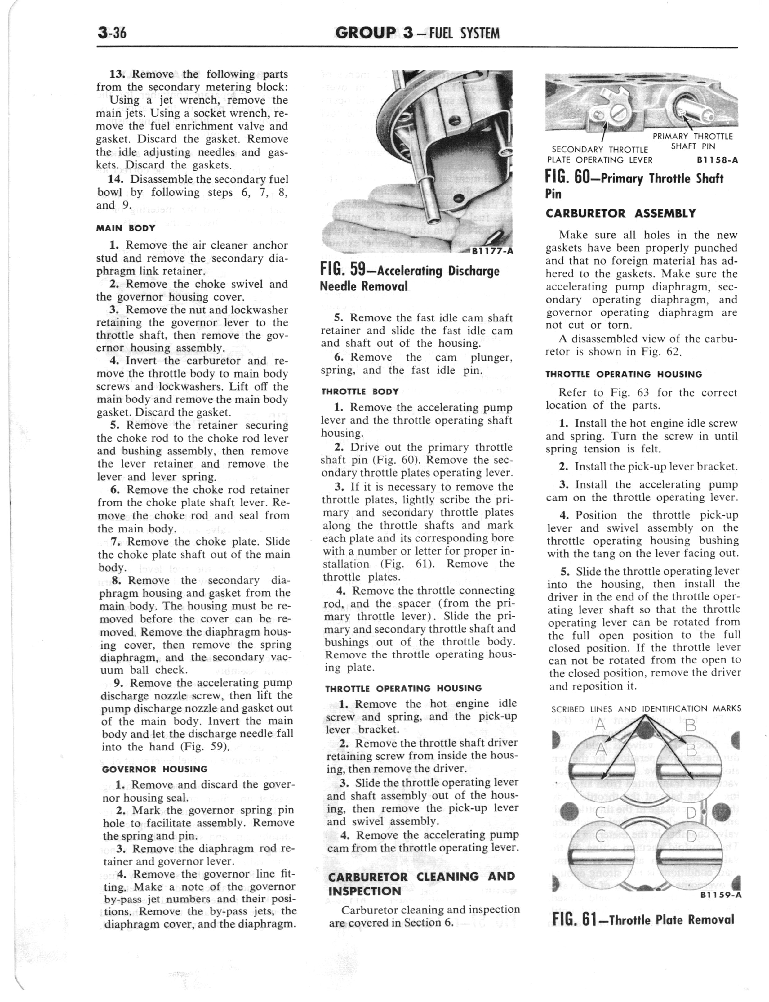 1960 Ford and Mercury Truck Shop Manual page 175 of 641