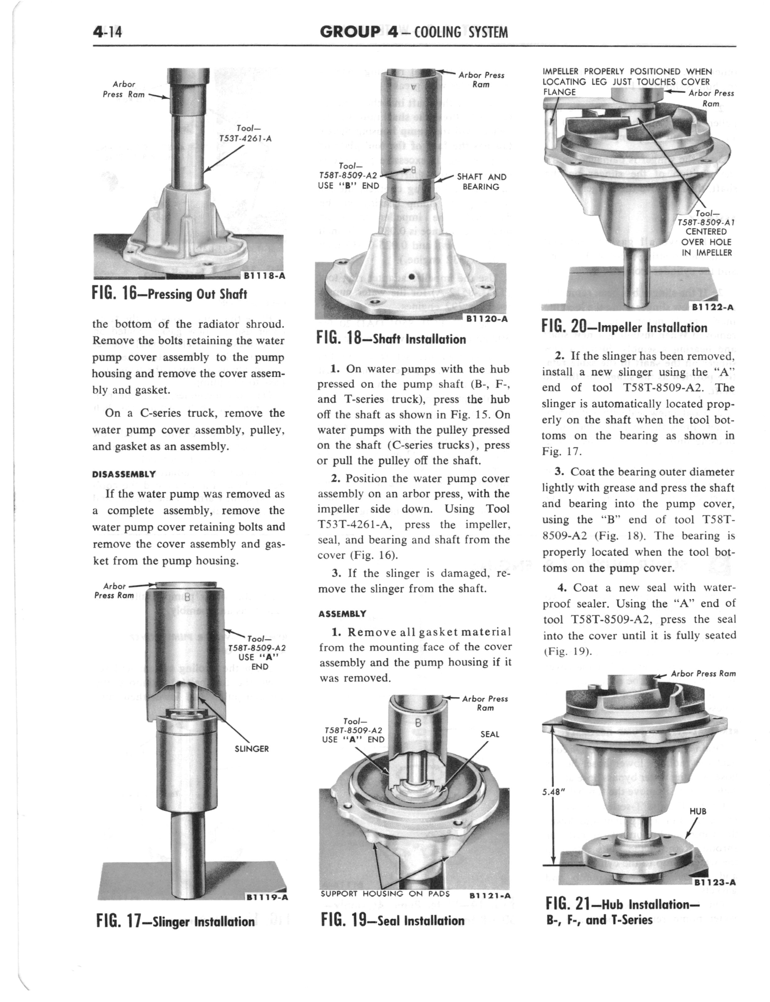 1960 Ford and Mercury Truck Shop Manual page 209 of 641