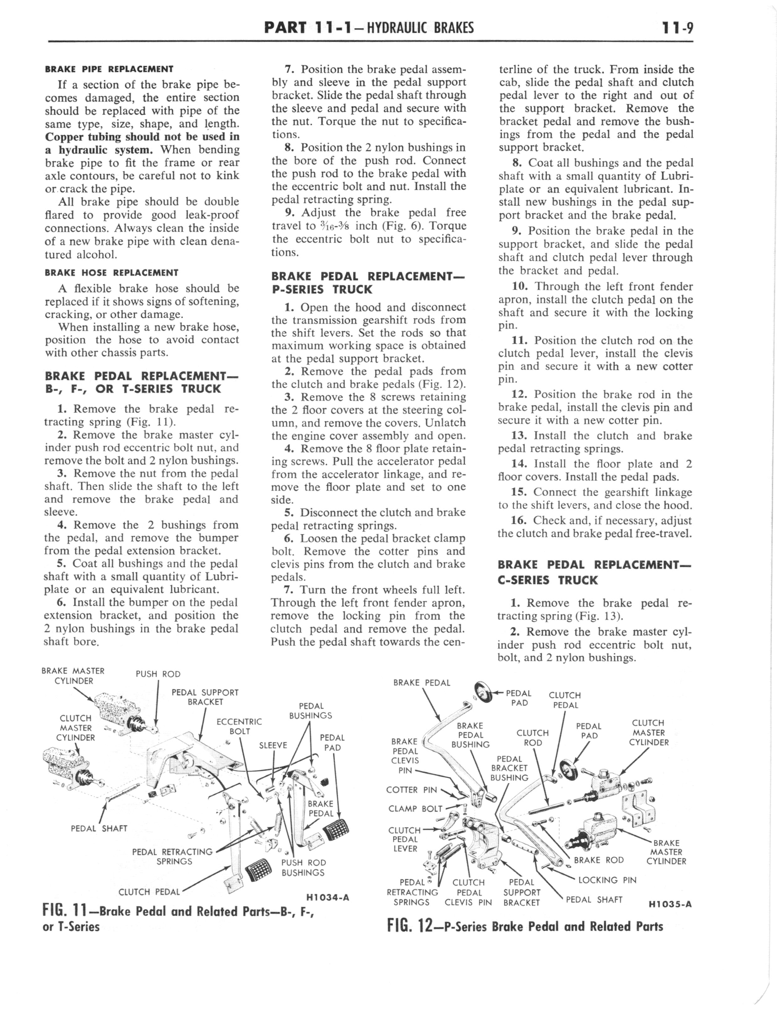 1960 Ford and Mercury Truck Shop Manual page 488 of 641