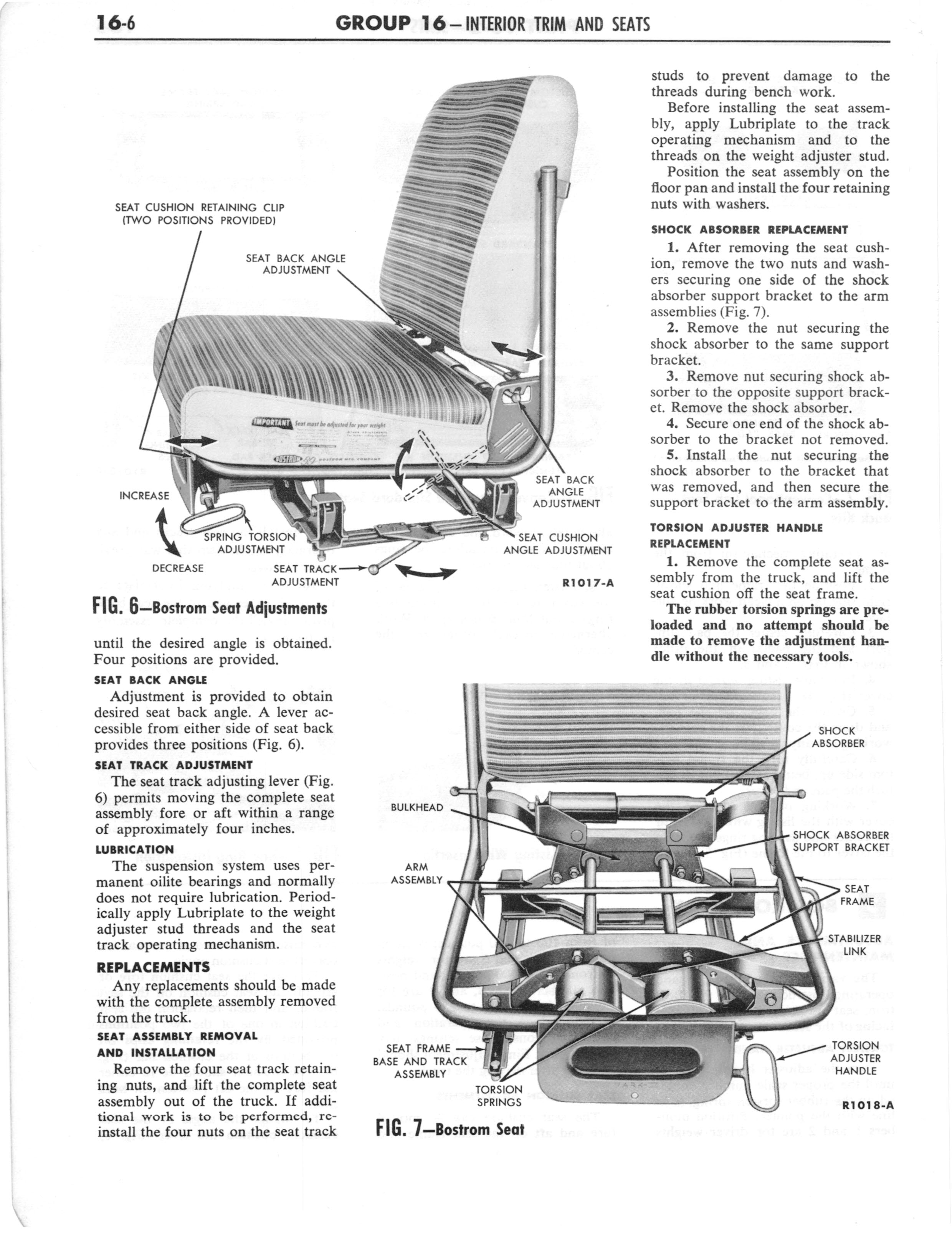 1960 Ford and Mercury Truck Shop Manual page 617 of 641