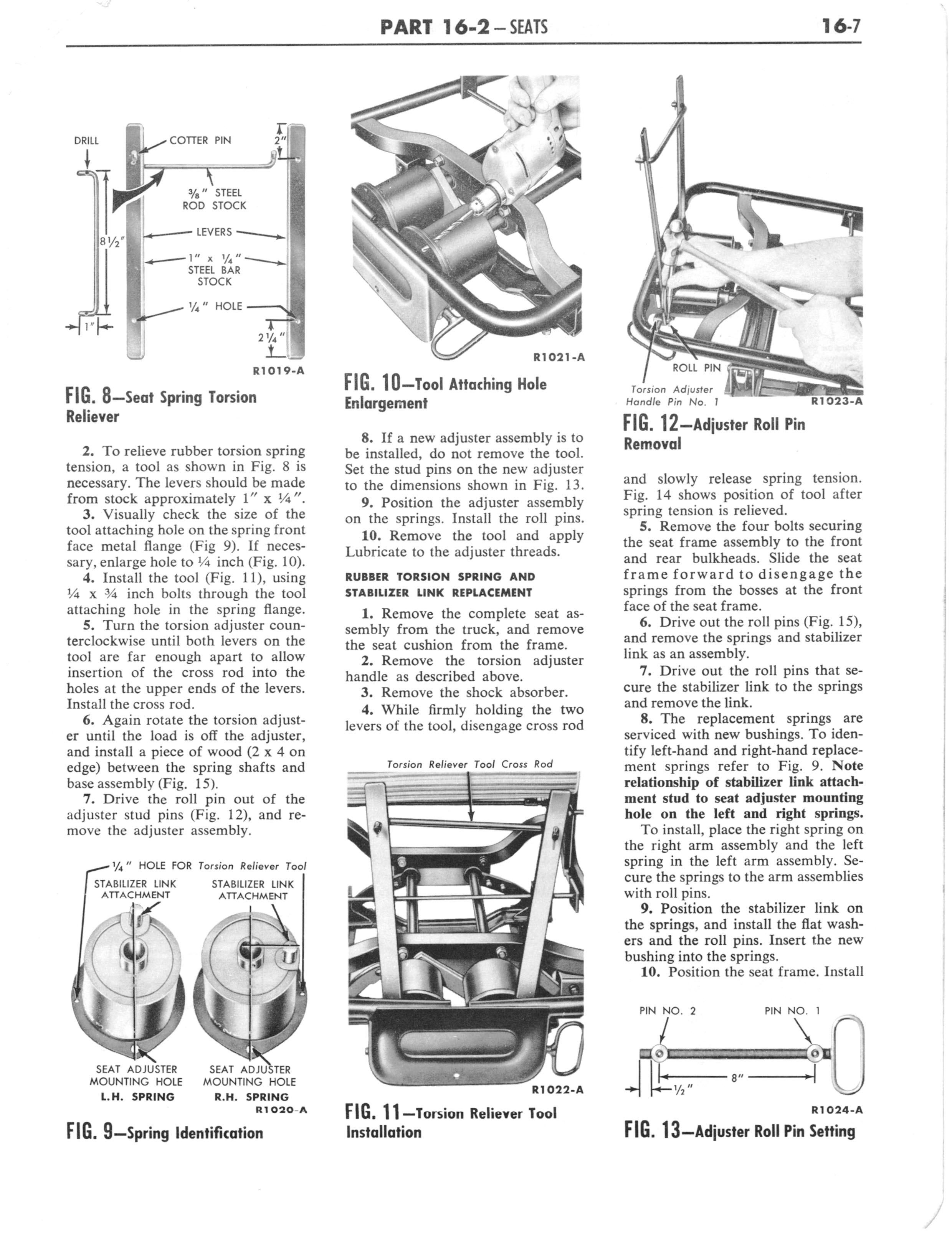 1960 Ford and Mercury Truck Shop Manual page 618 of 641