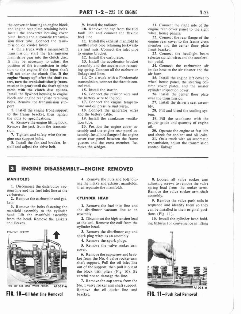 1960 Ford and Mercury Truck Shop Manual page 34 of 641