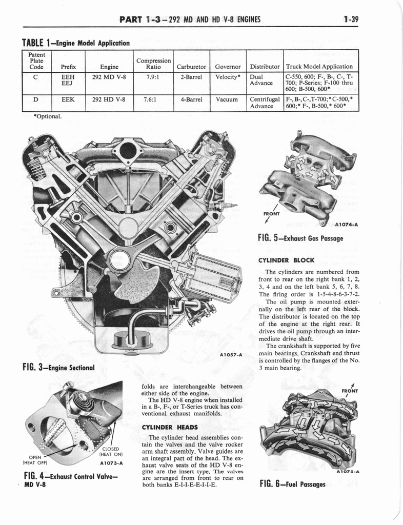 1960 Ford and Mercury Truck Shop Manual page 48 of 641