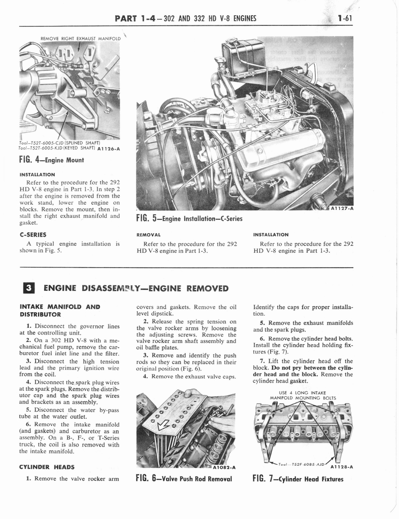 1960 Ford and Mercury Truck Shop Manual page 70 of 641