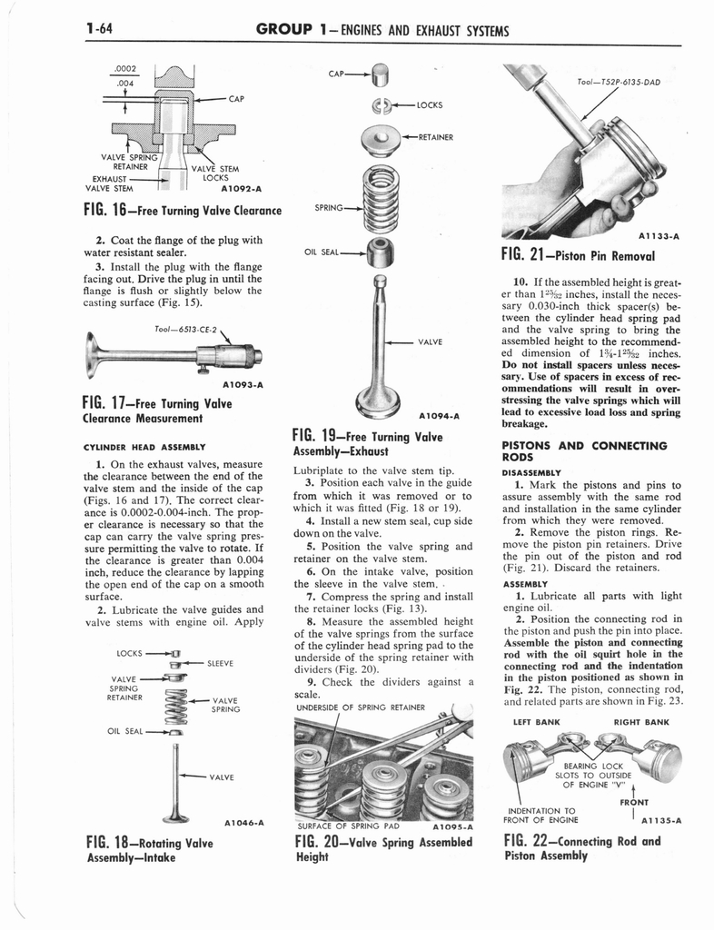 1960 Ford and Mercury Truck Shop Manual page 73 of 641